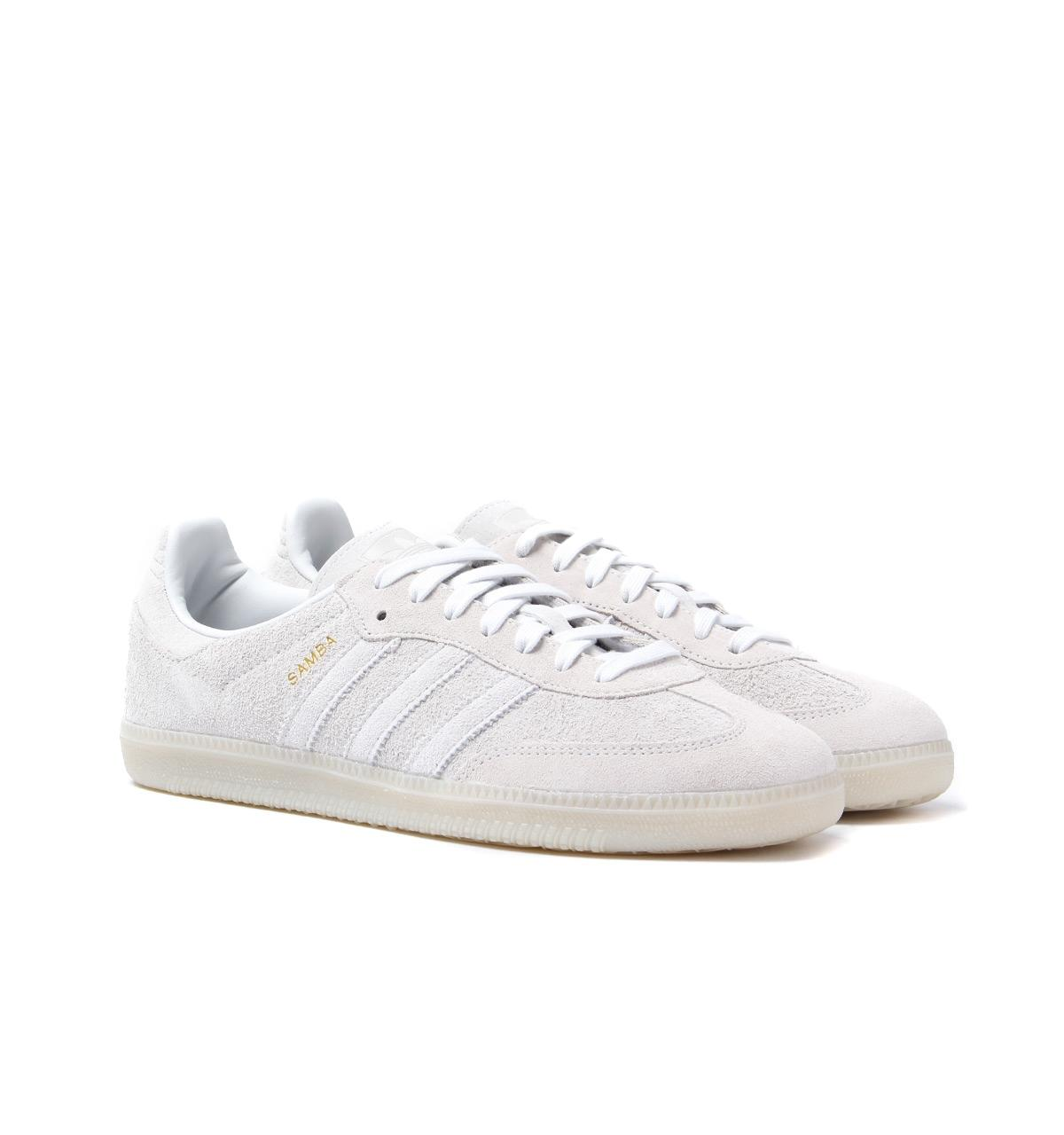 adidas Originals Adidas Samba Og Crystal White Trainers in White for ... 56a866ce1bd5