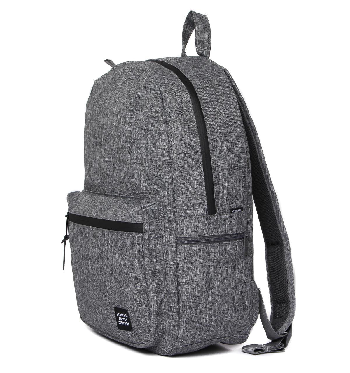 4860c9e0eb Lyst - Herschel Supply Co. Harrison Raven Canvas Classic Backpack in ...
