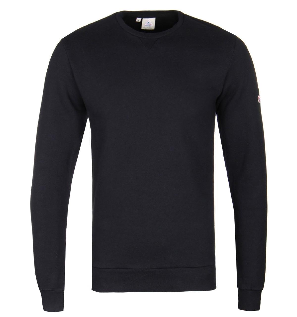 Pyrenex Cotton Black Chergui Sweatshirt for Men