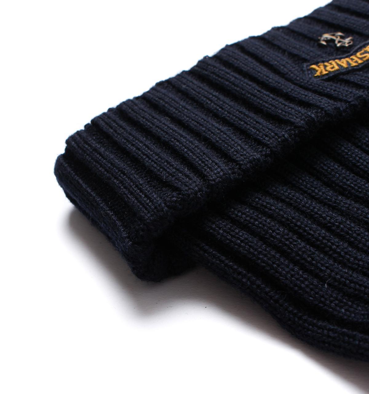 Lyst - Paul   Shark Ribbed Woollen Navy Anchor Hat in Blue for Men d24ee0a60649