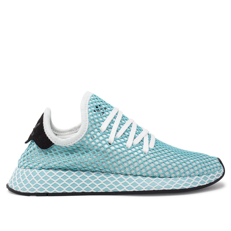 sale retailer faac4 c5d2a adidas Originals. Mens Blue Deerupt Runner Parley
