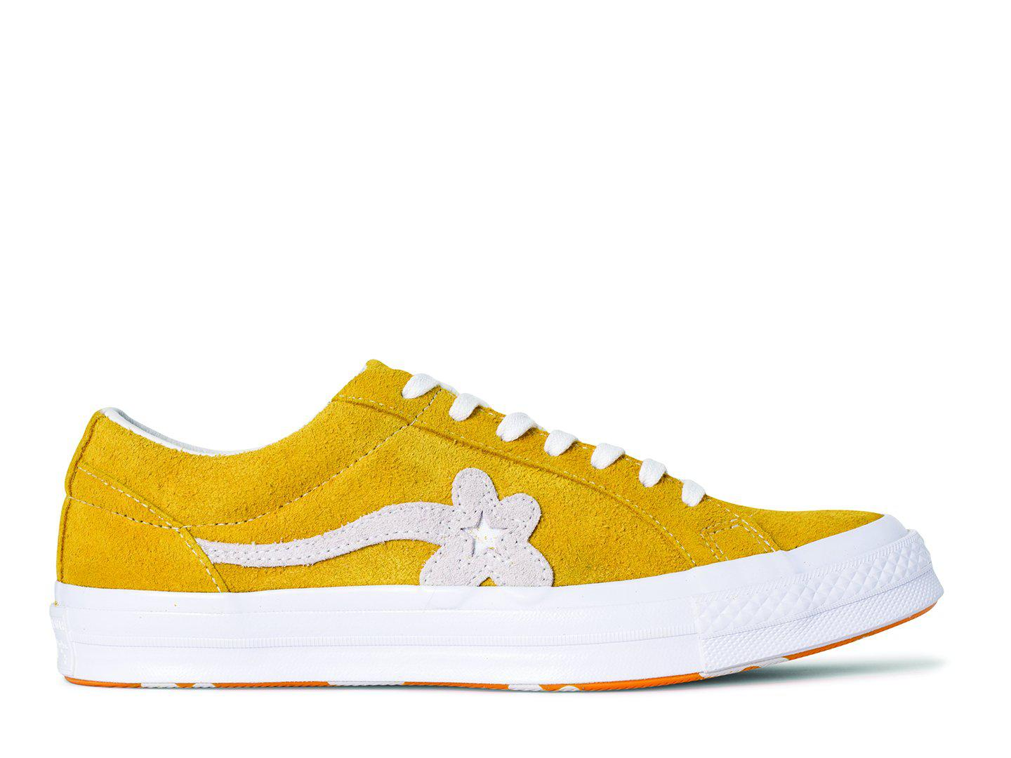 Desfiladero grua Tranquilizar  Converse Suede One Star X Golf Le Fleur in Yellow for Men - Lyst