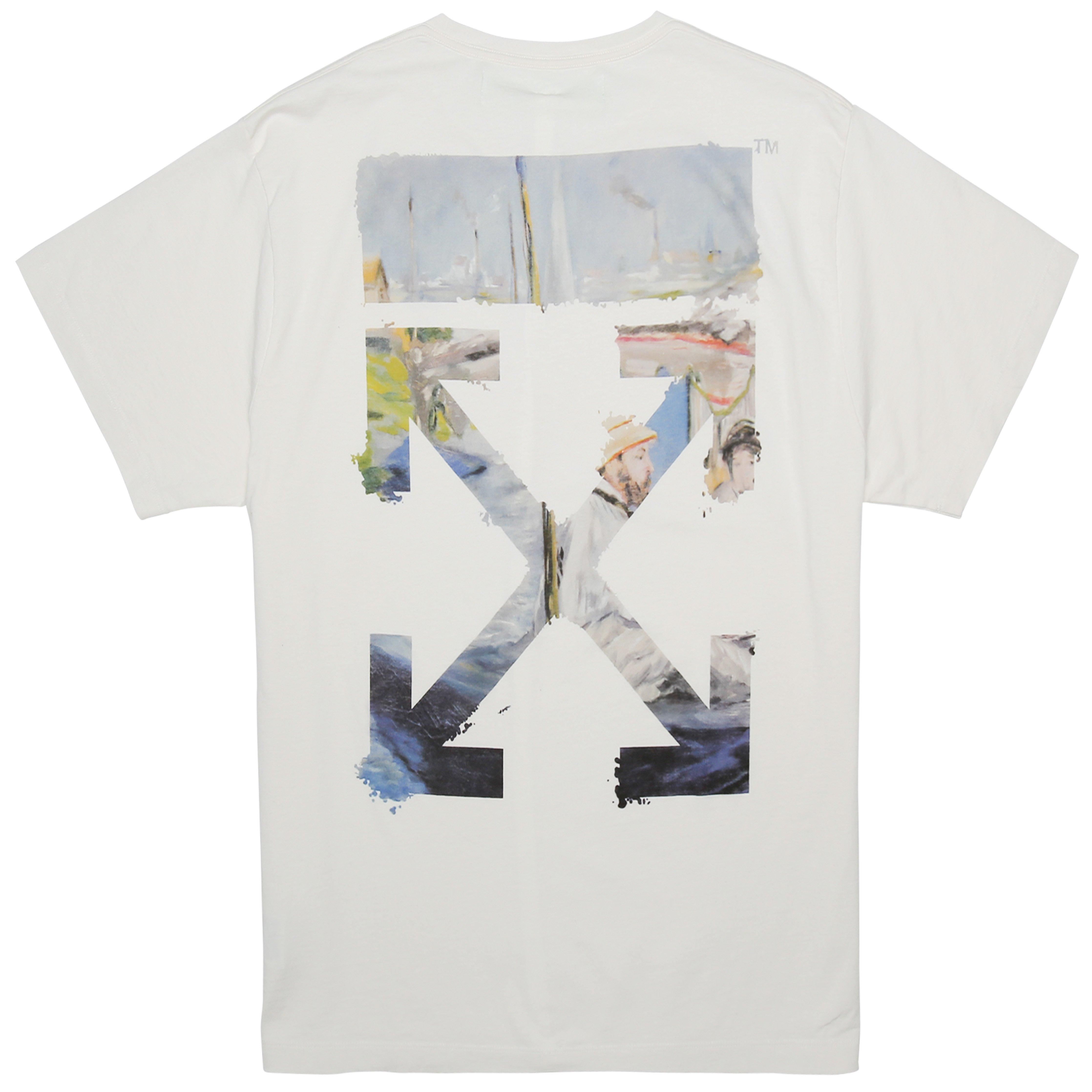Lyst Off White Co Virgil Abloh Colored Arrows Short Sleeve