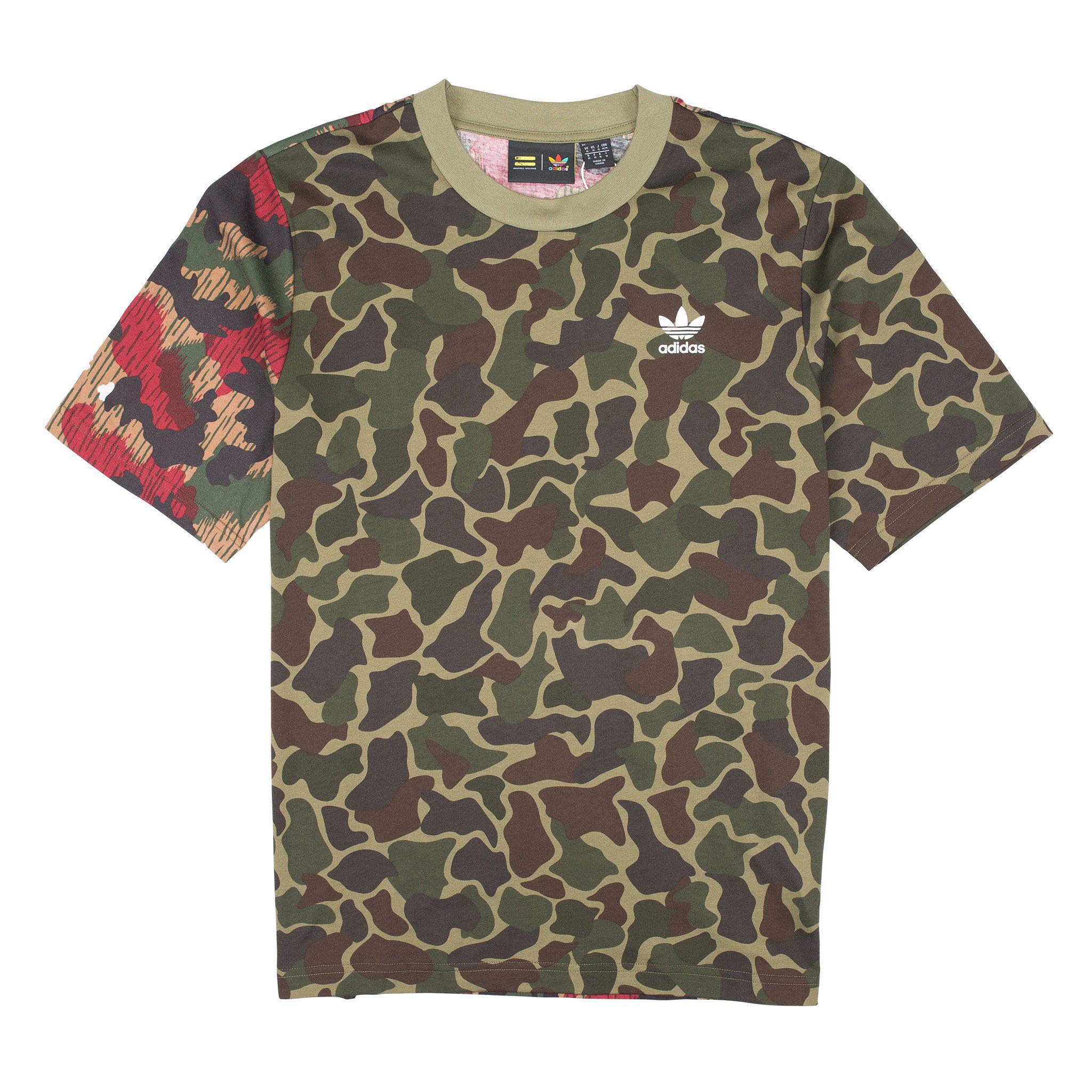 0e96d63321442 Lyst - adidas Originals Hu Hiking Boxy T-shirt for Men