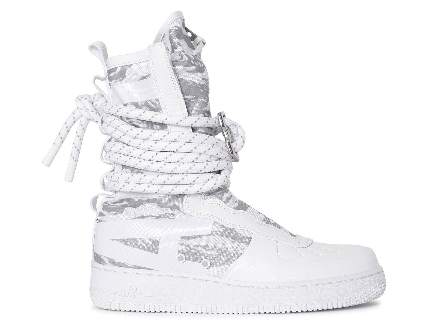 Nike Leather Sf Air Force 1 Hi Winter Boot in White | White (White ...