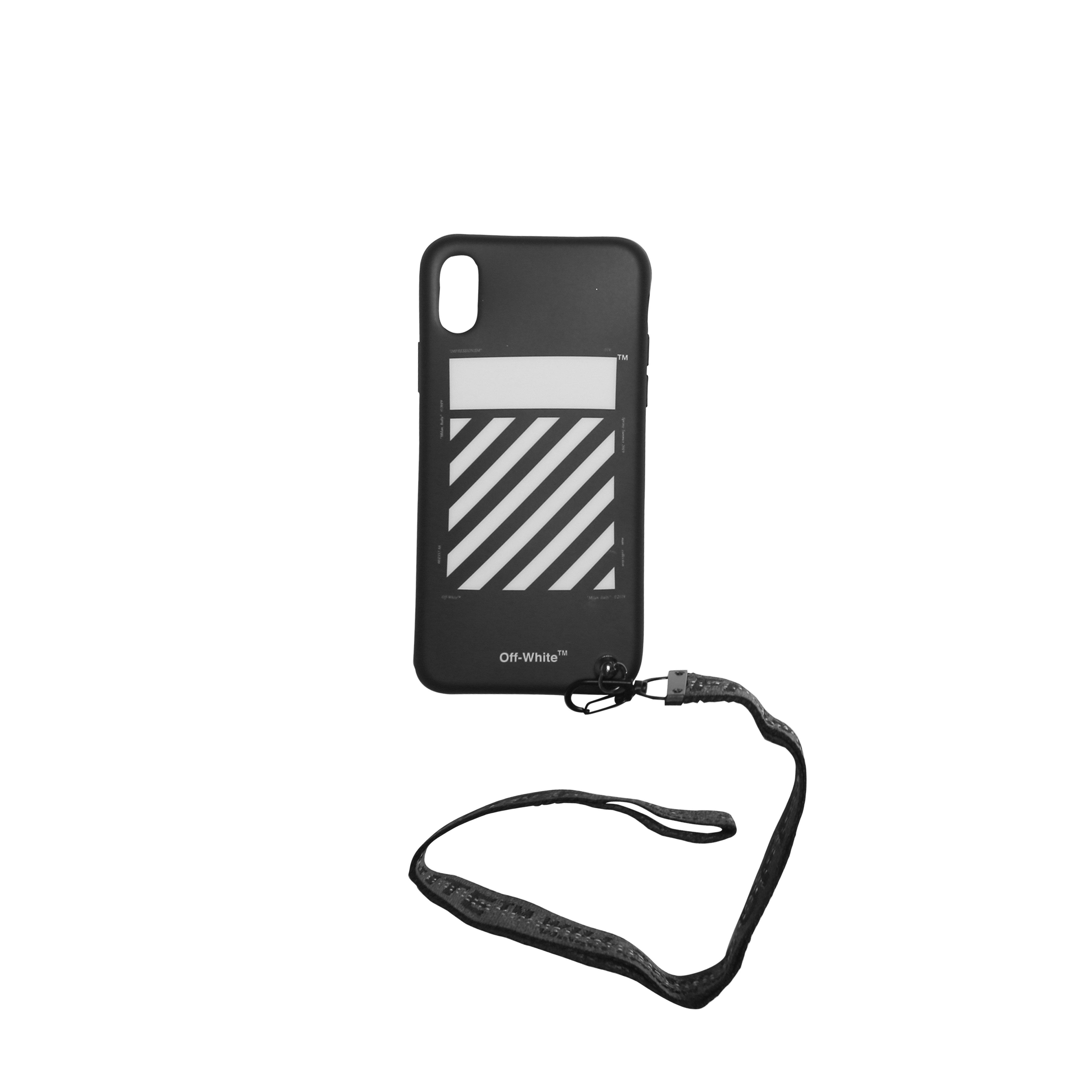 d0a210821bcd Lyst - Off-White c o Virgil Abloh Arrow Iphone X Cover in Black