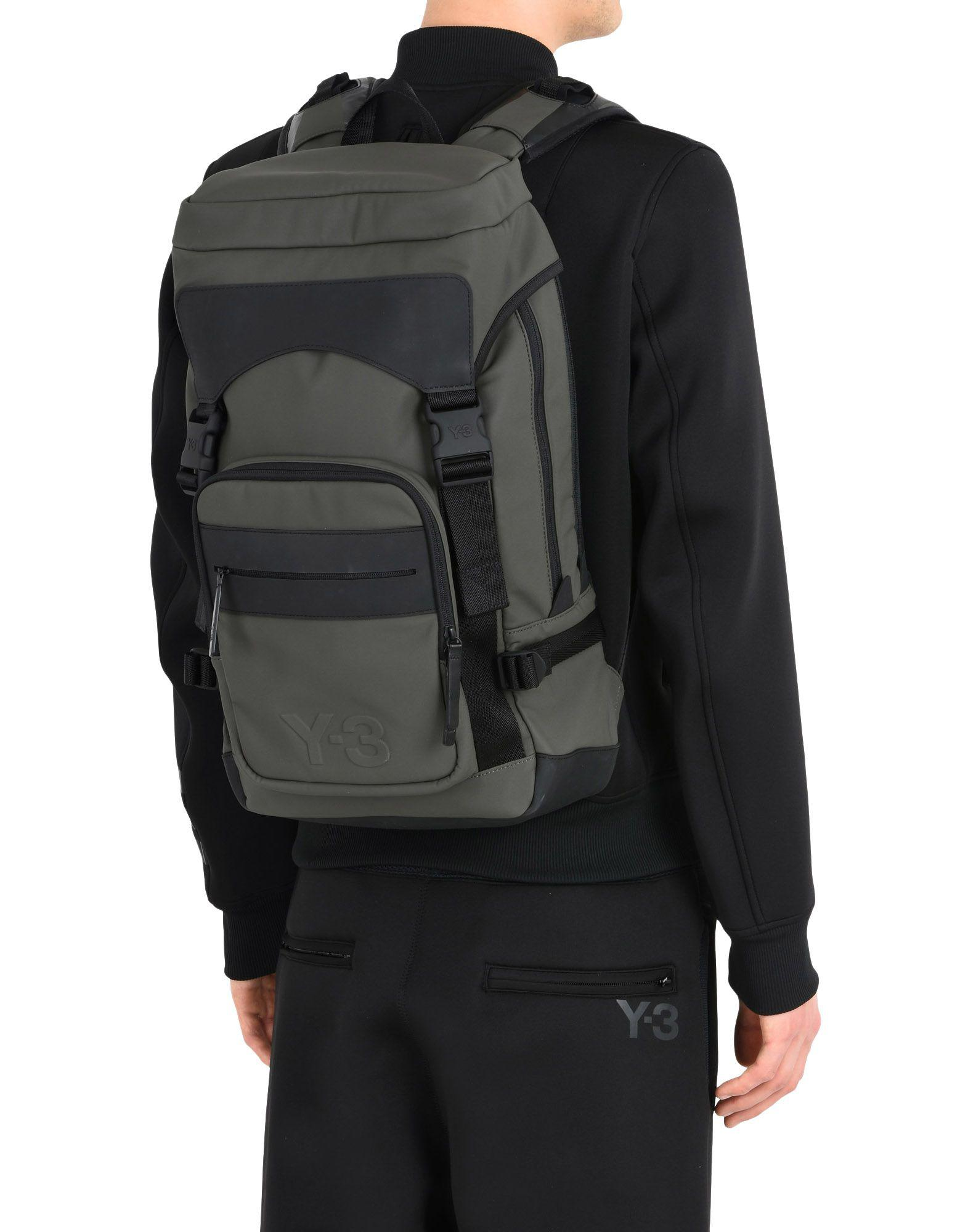 134a23819e Lyst - Y-3 Ultratech Bag in Green for Men