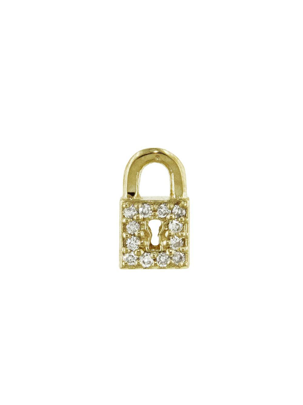 Sydney Evan Small Key Hole Lock Studs 8opoc