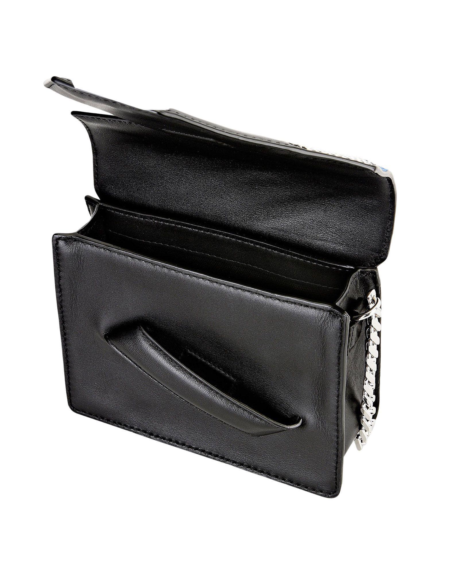 Karl Lagerfeld Leather Cross-body Bag in Blue