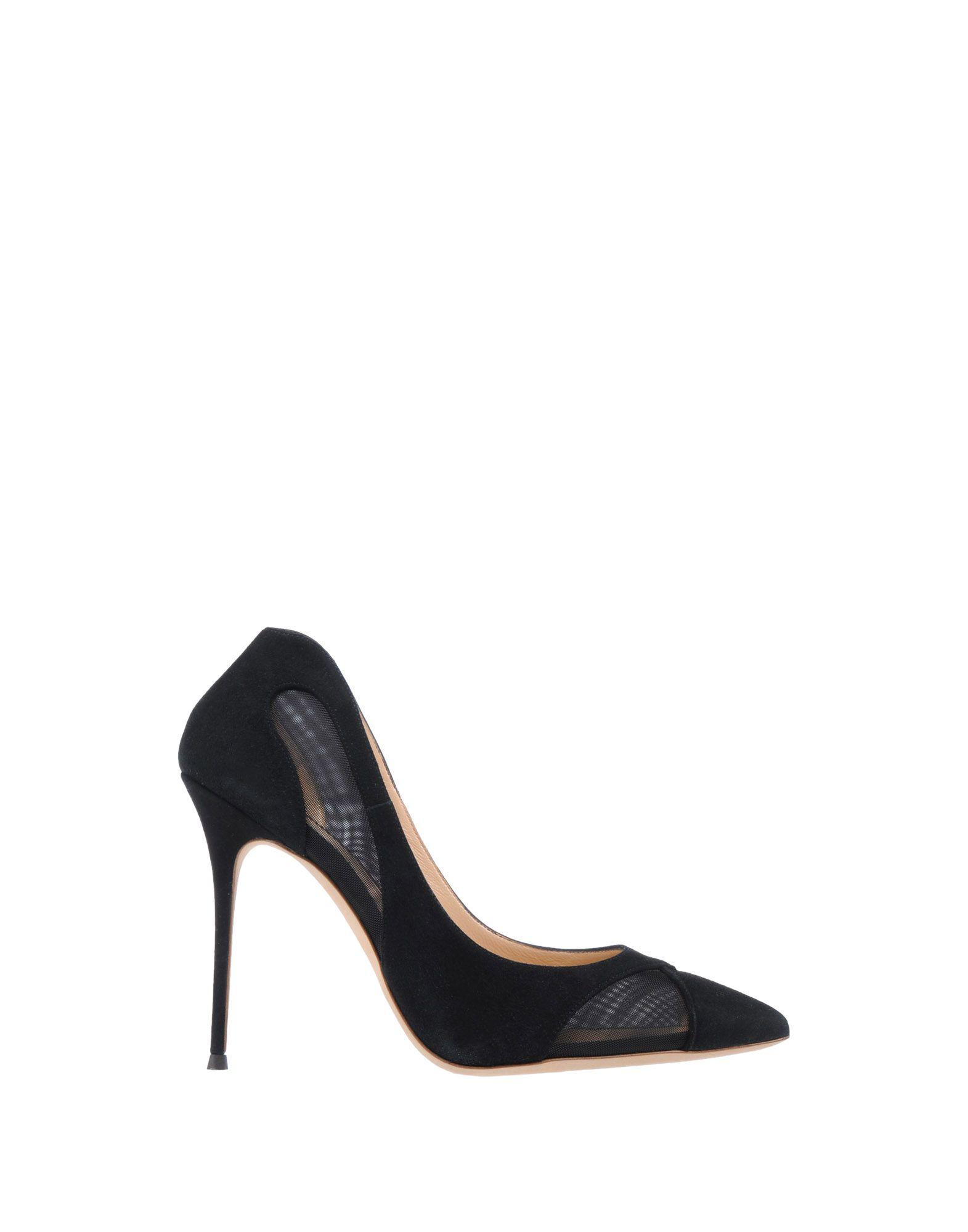 Zapatos de salón Giuseppe Zanotti de Ante de color Negro