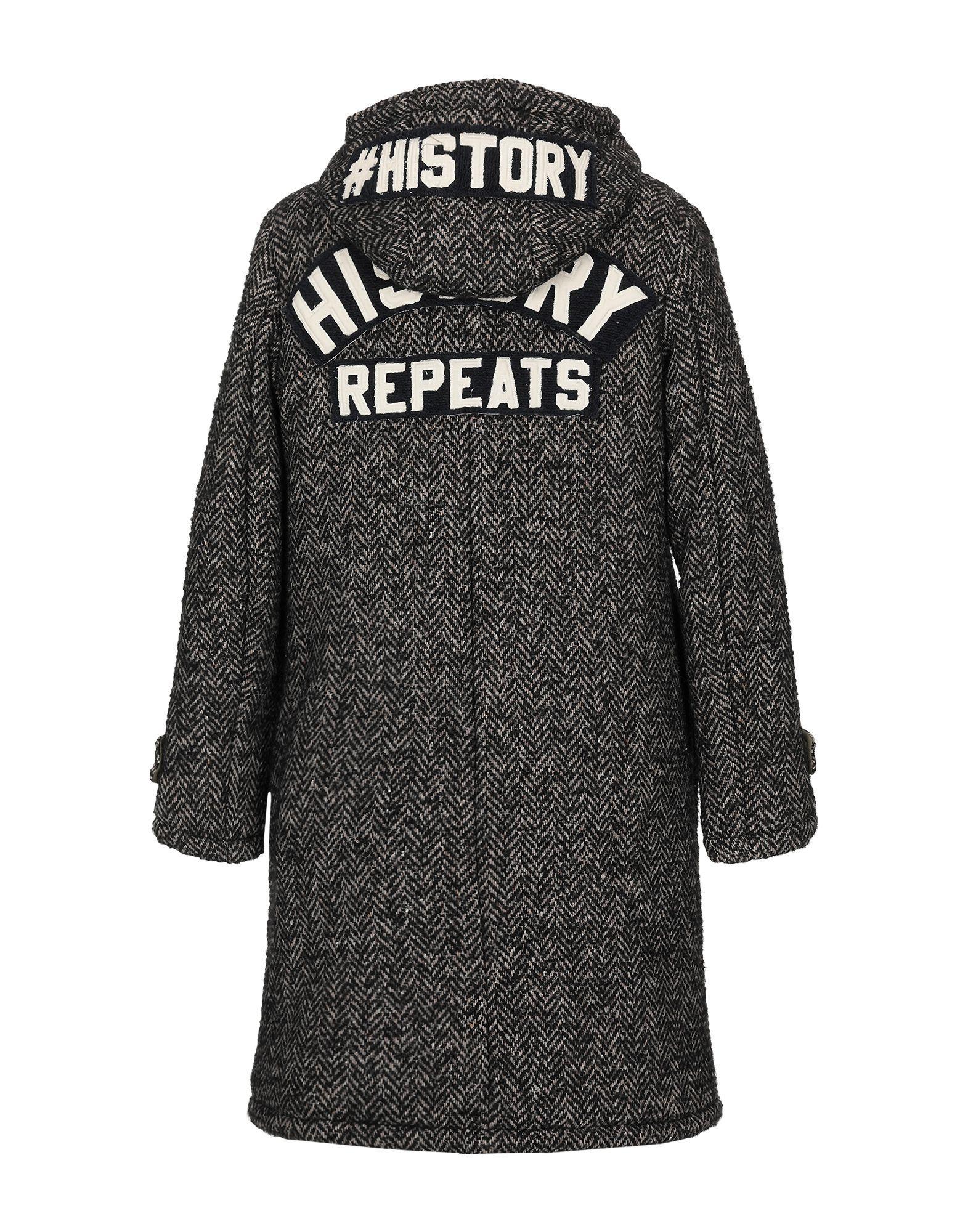 Lyst - History Repeats Coat in Black 19a2992d8