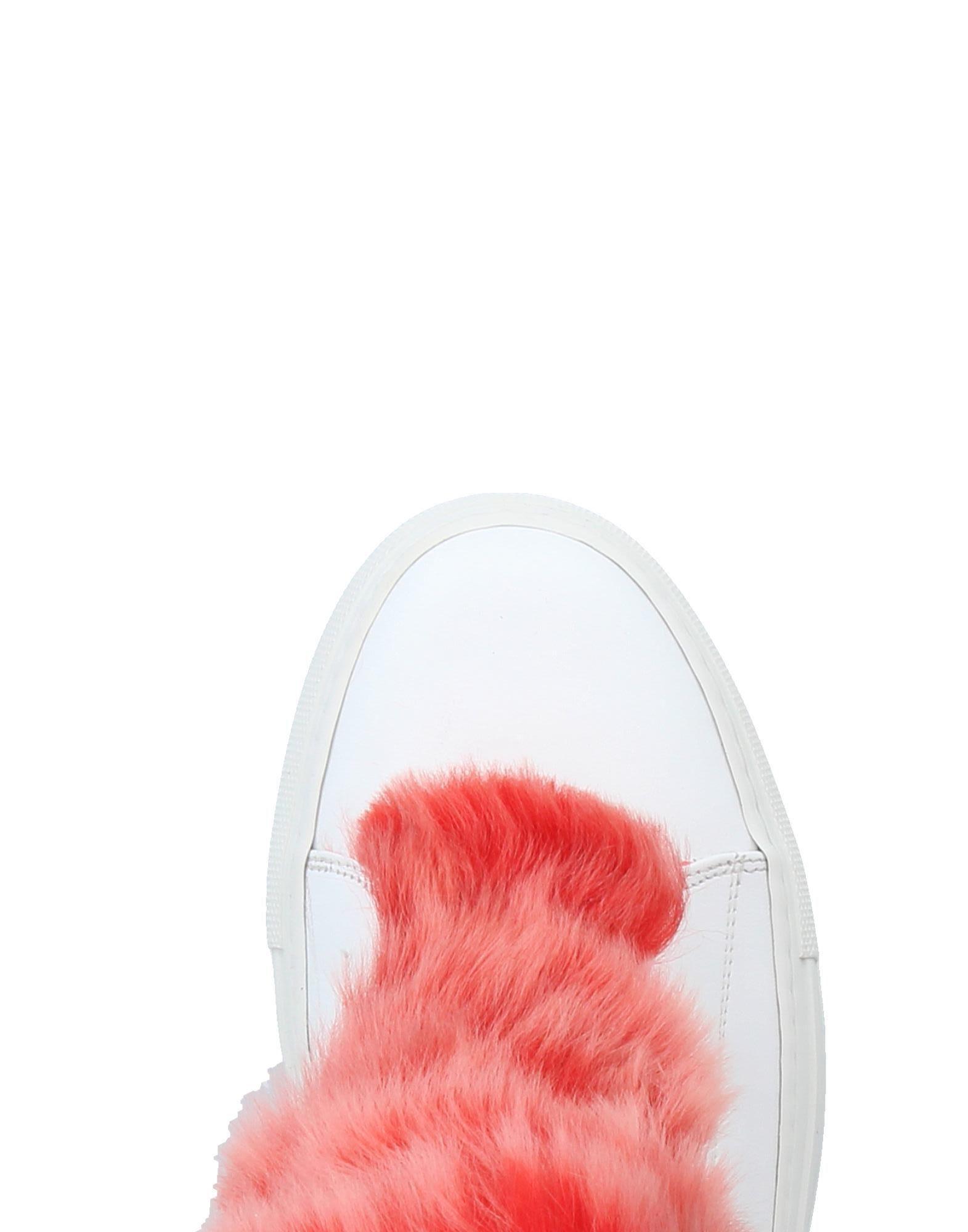Alberto Moretti Leather High-tops & Sneakers in White