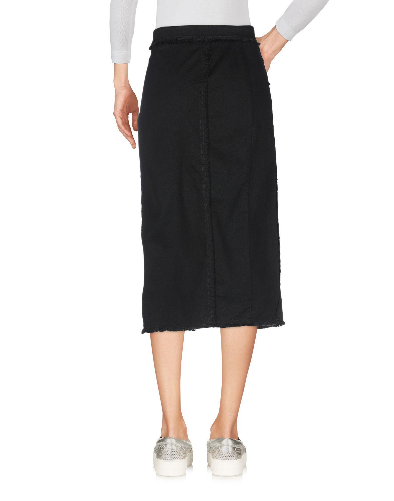 Jupe en jean Jean Blumarine en coloris Noir