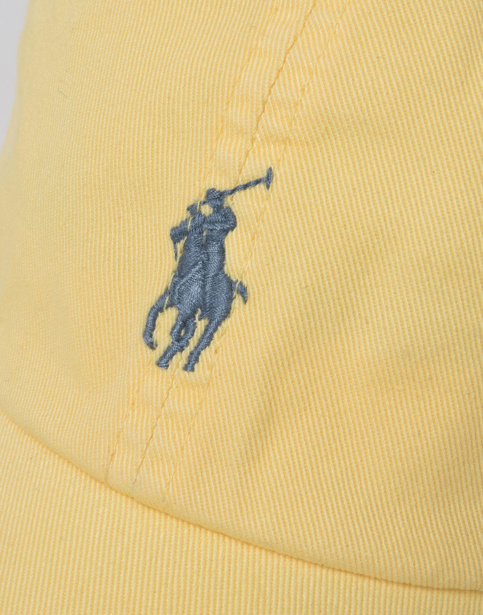 d9626d5f3f7b Lyst - Chapeau Polo Ralph Lauren pour homme en coloris Jaune