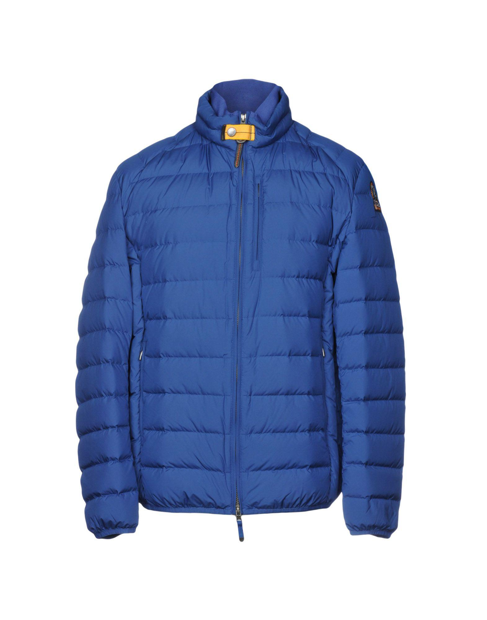 Parajumpers. Men's Blue Down Jacket