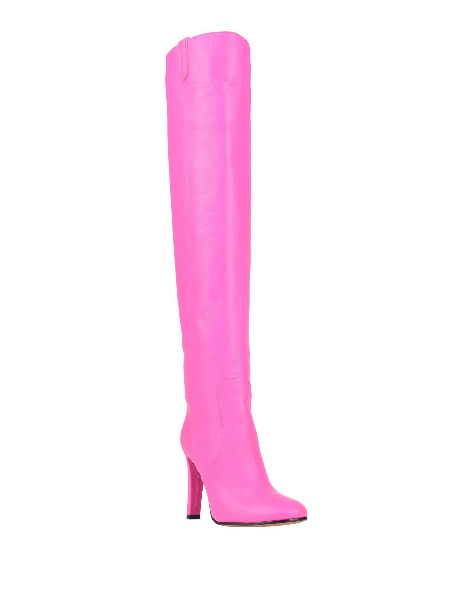 Botas Golden Goose Deluxe Brand de Cuero de color Rosa