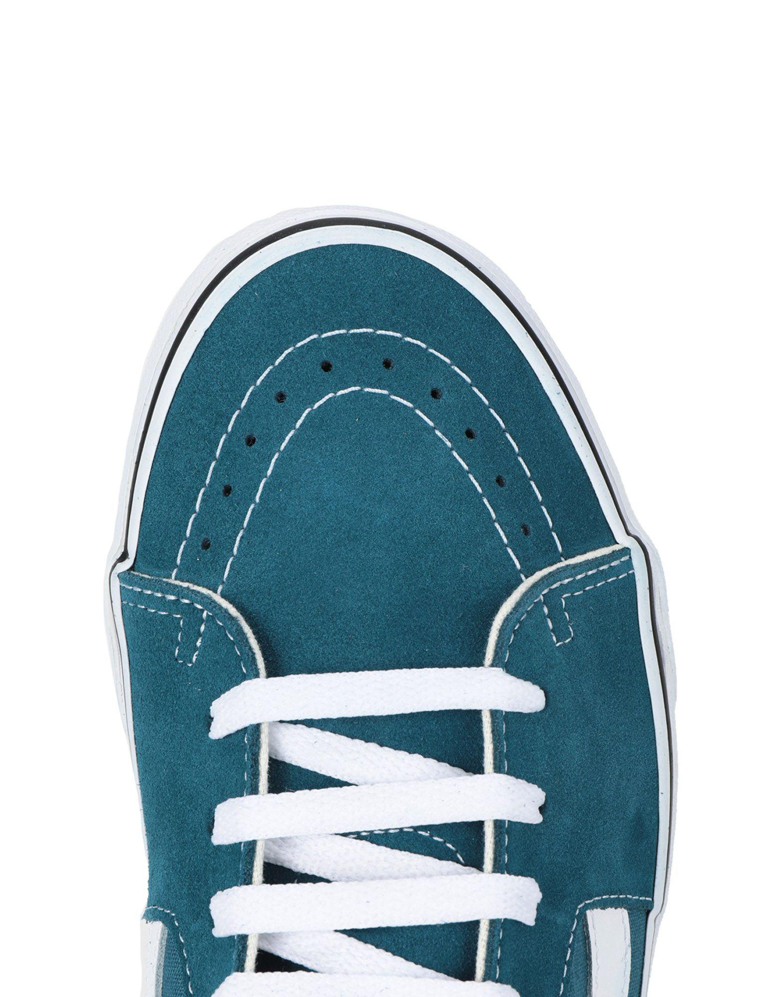 Vans Canvas High-tops & Sneakers in Turquoise (Blue) for Men - Lyst