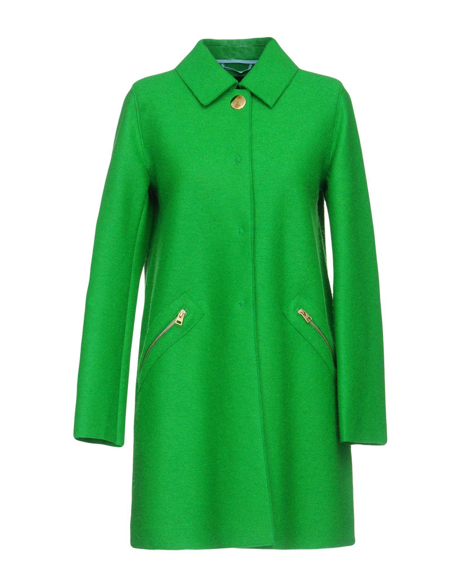 c6a2dc2a14 Tara Jarmon Coat in Green - Lyst