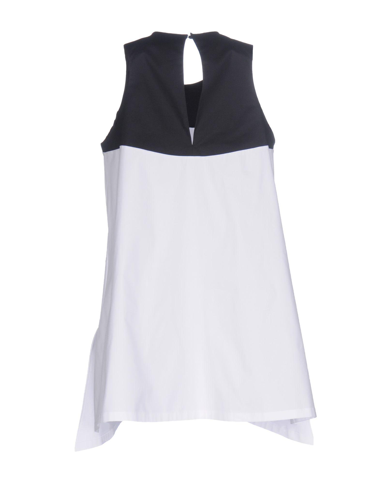 526f0691 Lyst - Jil Sander Navy Top in White