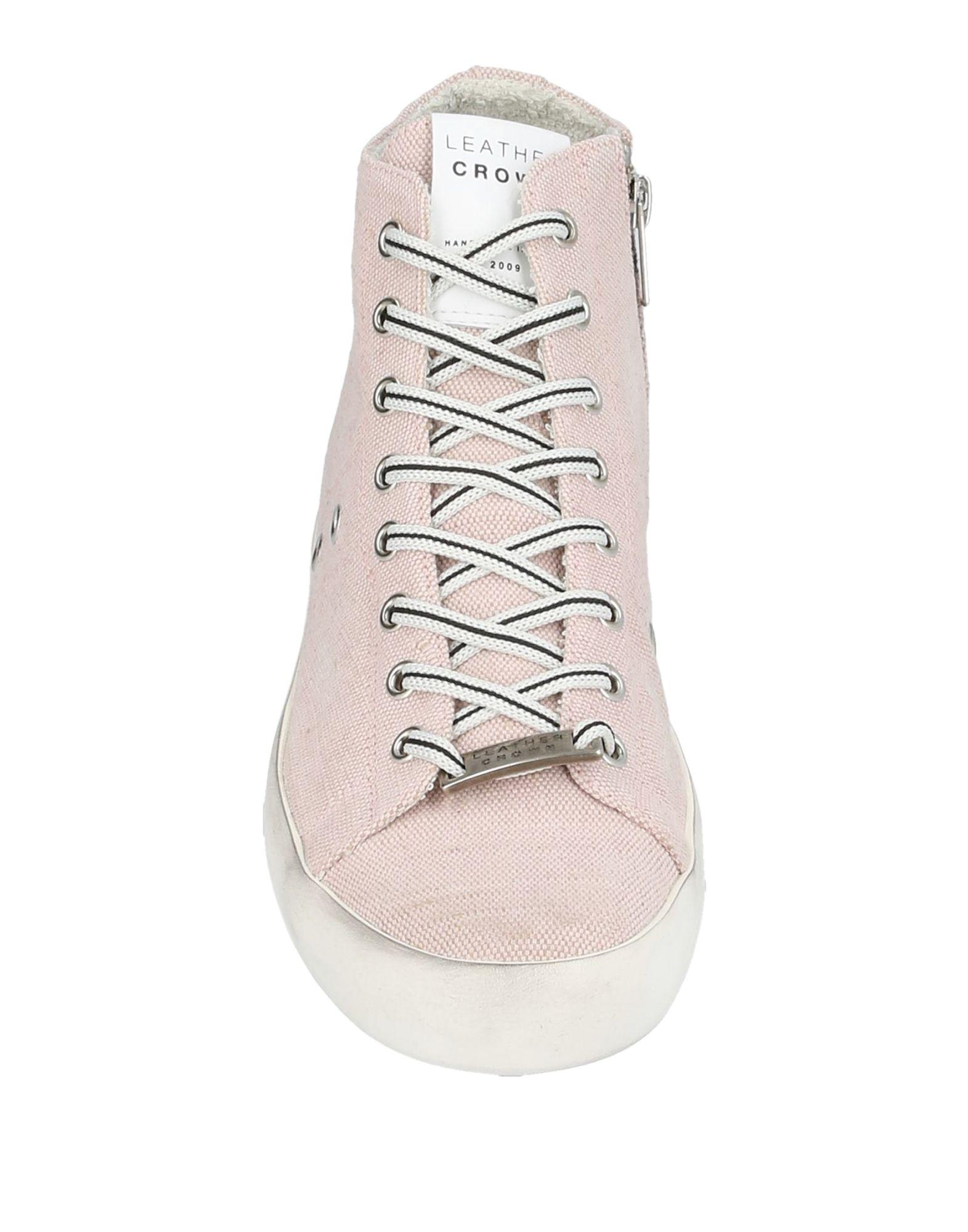 Sneakers & Tennis montantes Toile Leather Crown en coloris Rose iqqS