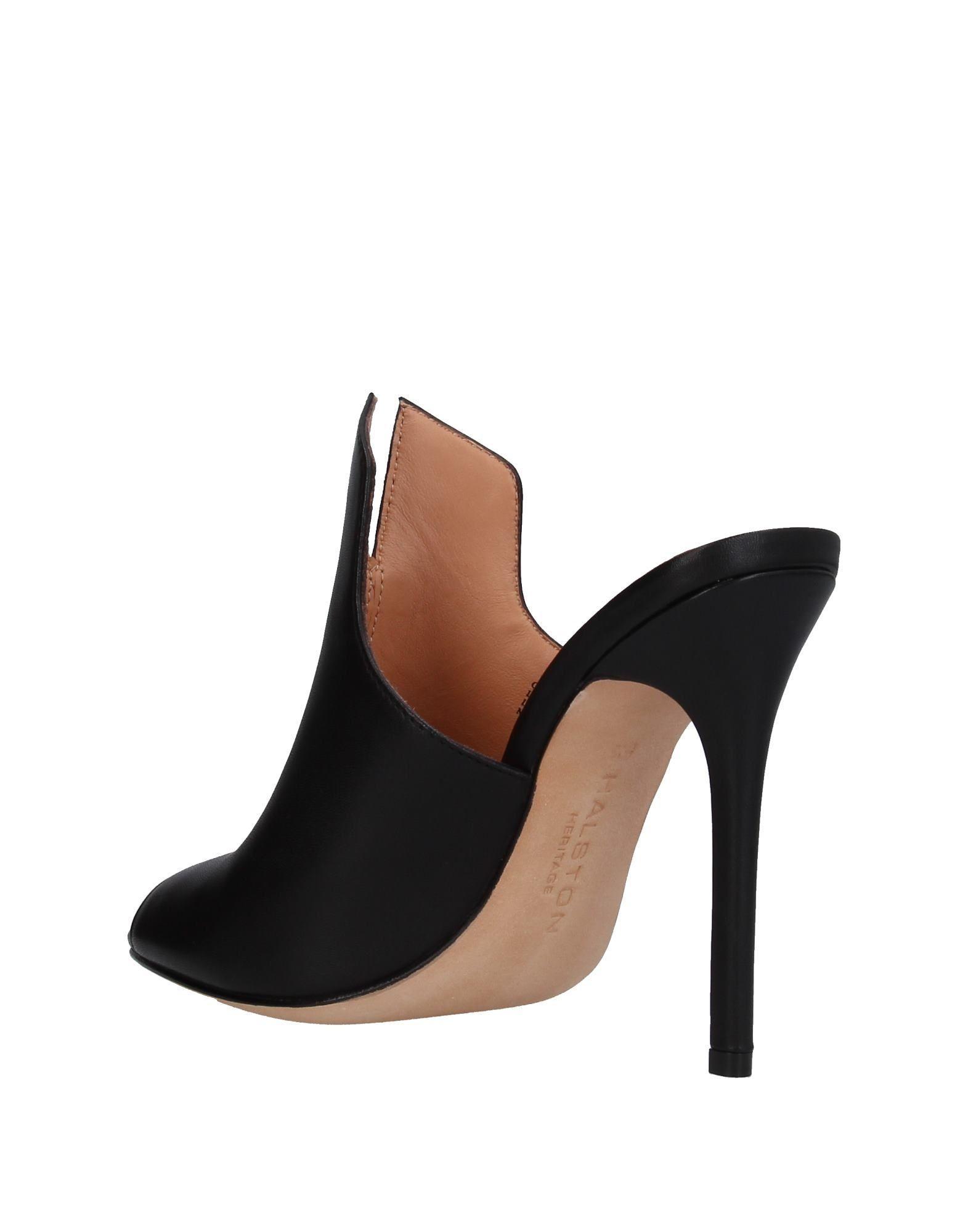6f0ca3a3e5e Lyst - Halston Sandals in Black