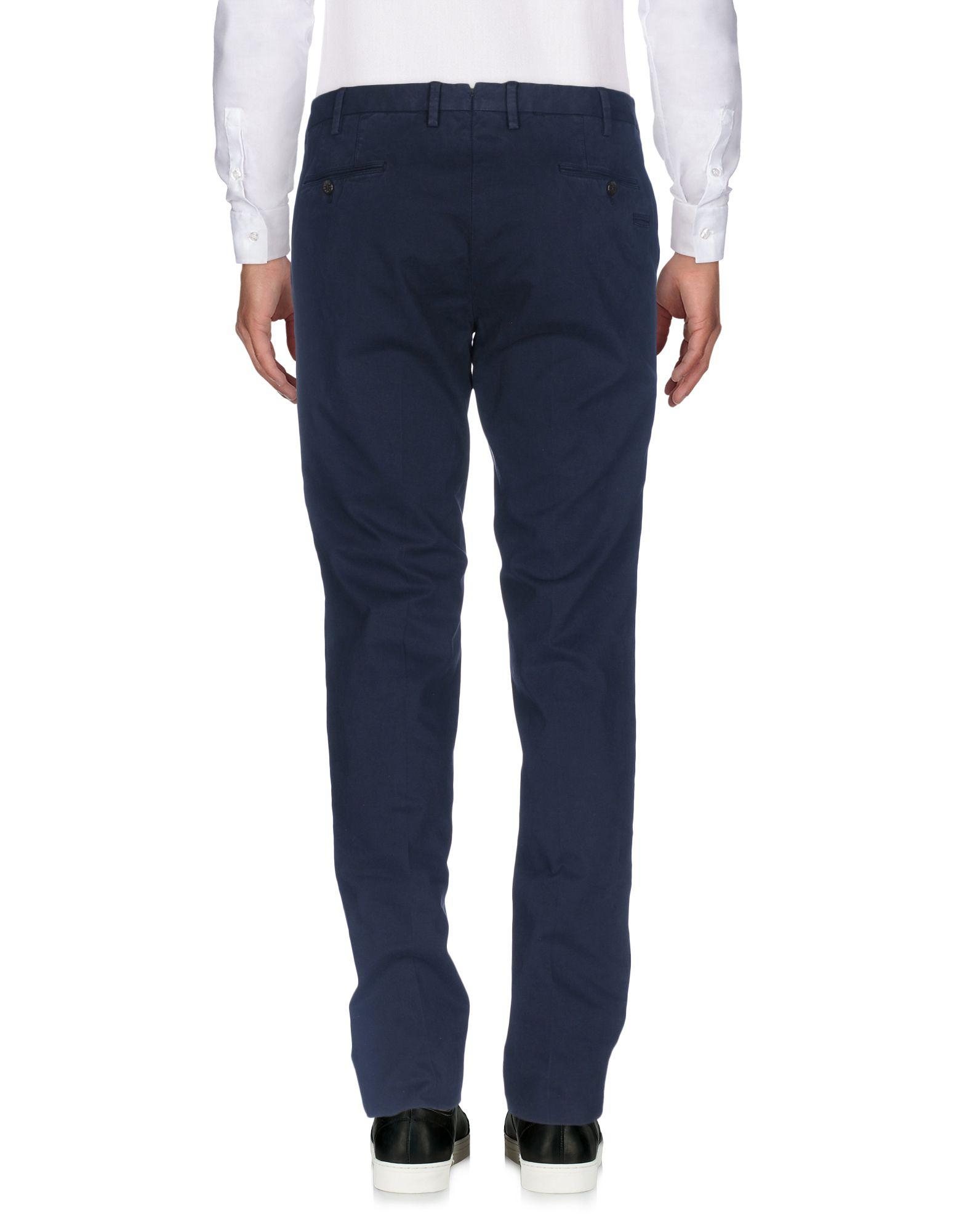 PT Torino Cotton Casual Pants in Slate Blue (Blue) for Men