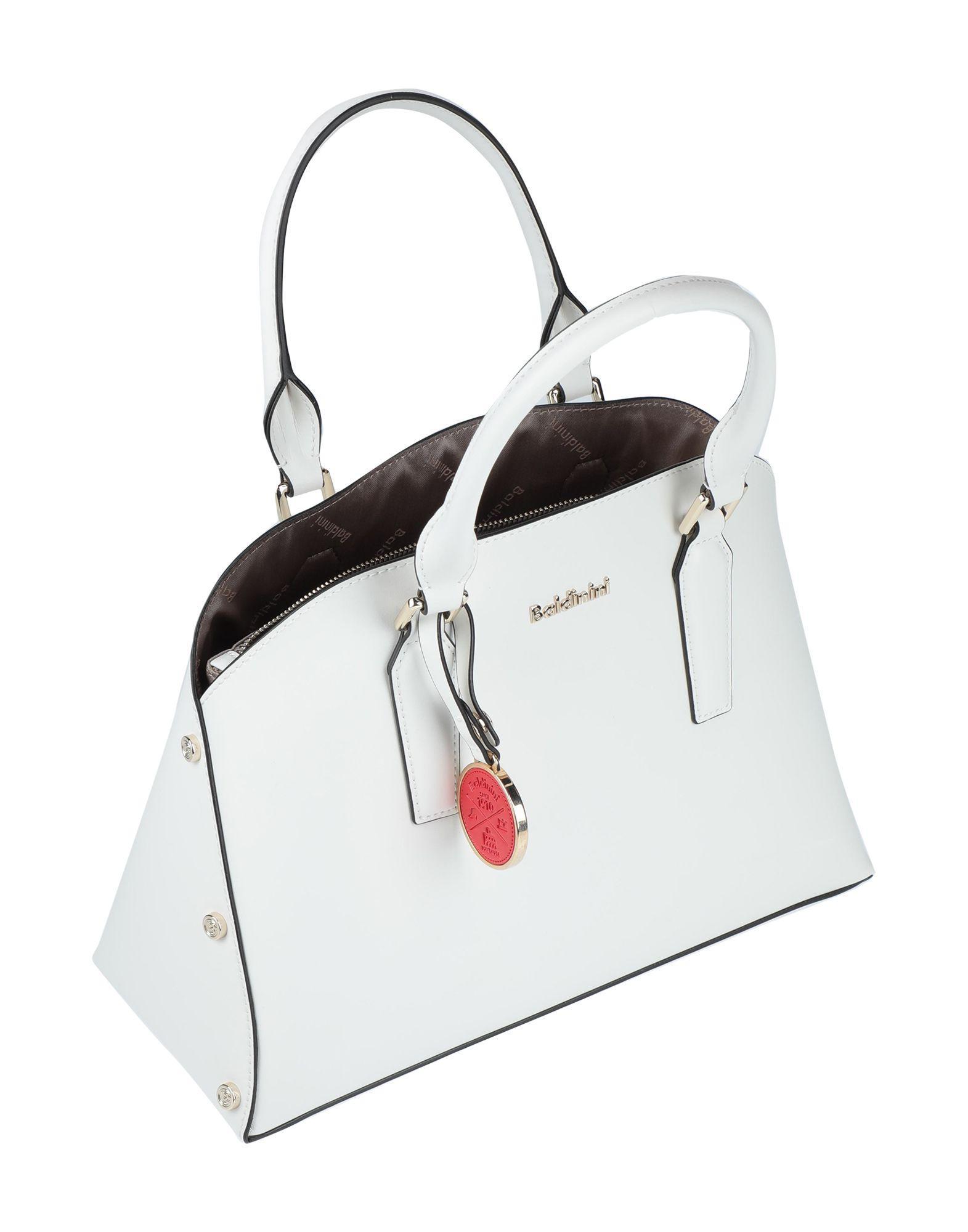 Baldinini Leder Handtaschen in Weiß a2mPF