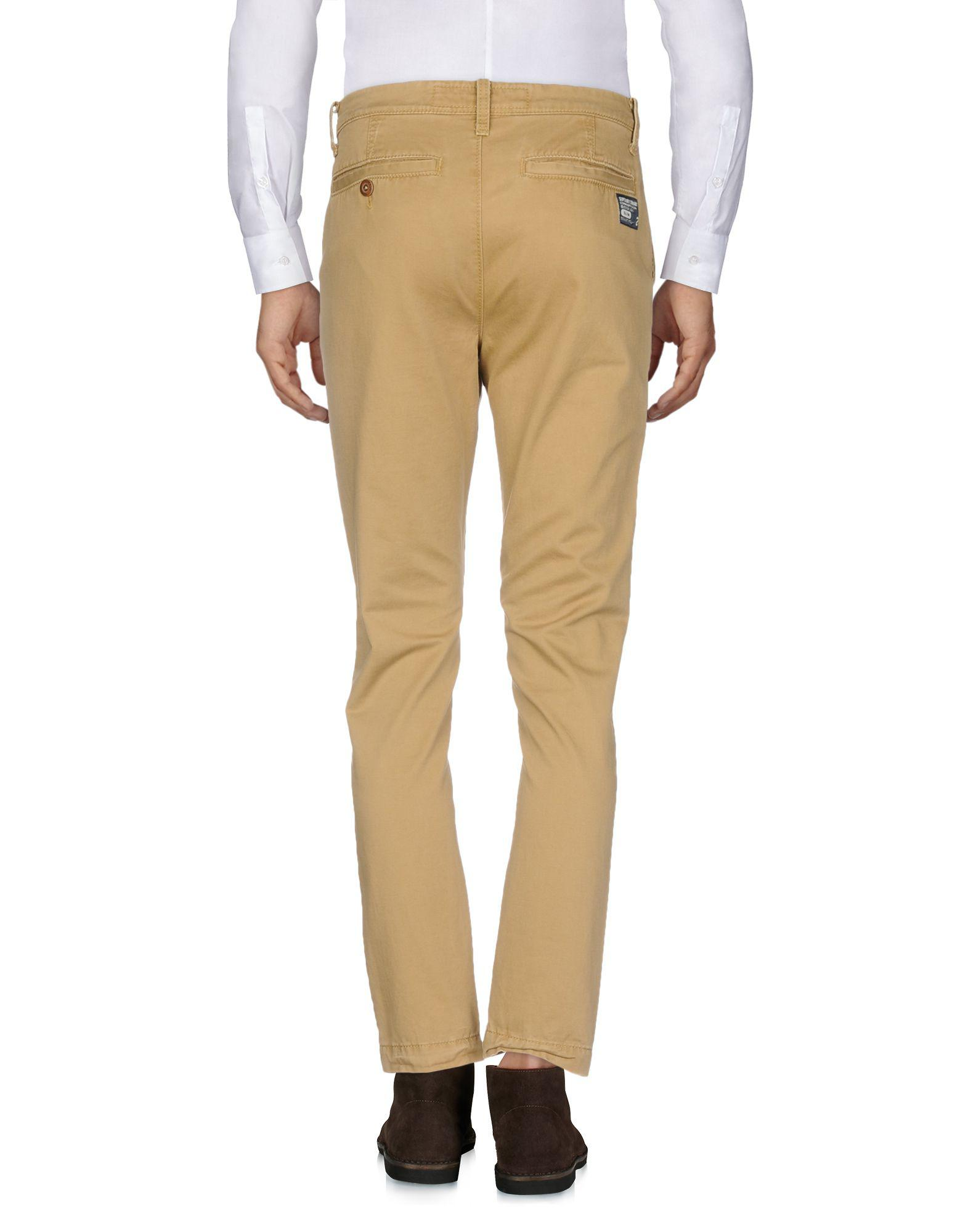Superdry Cotton Casual Trouser in Camel (Natural) for Men