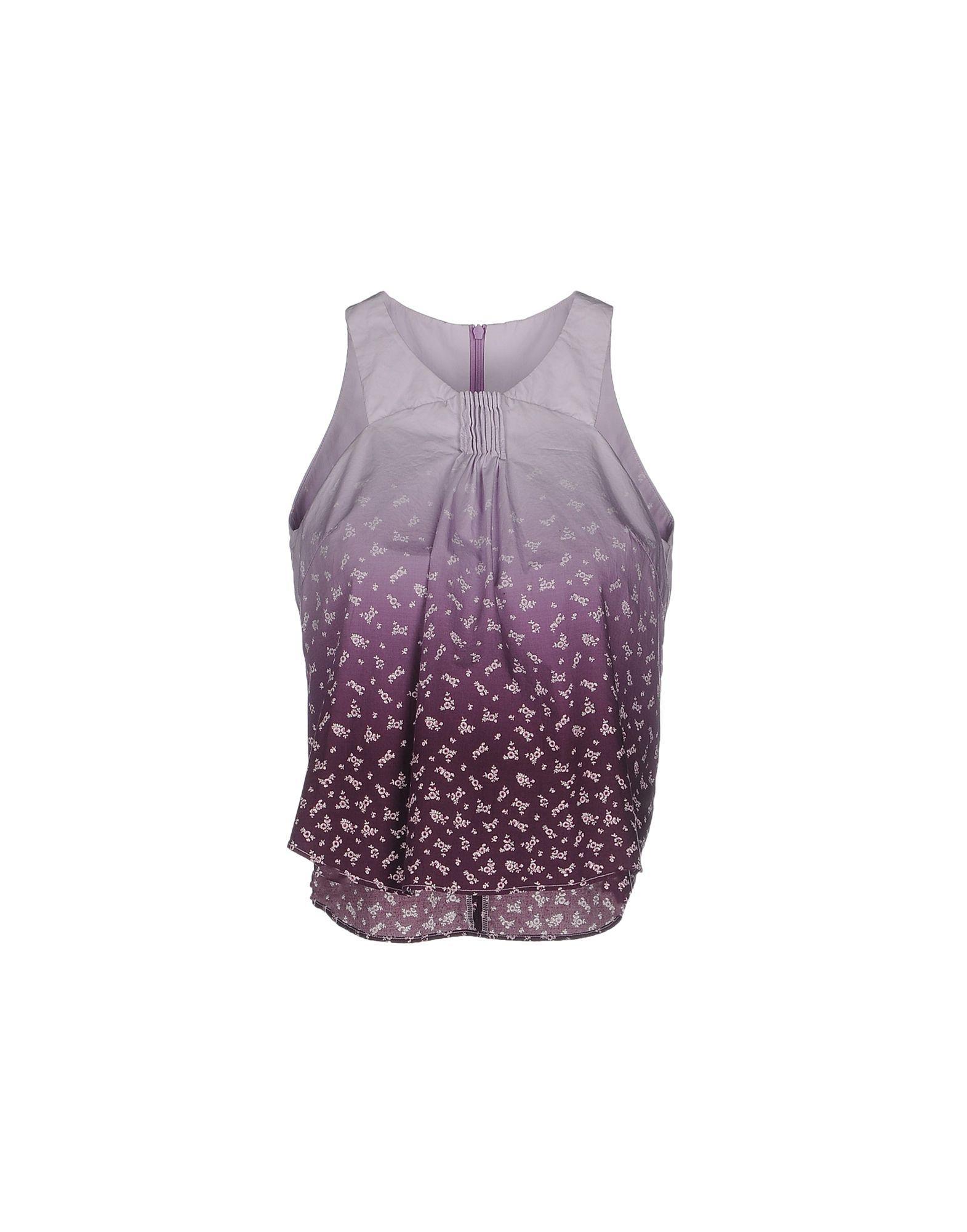 Lyst cosmic wonder top in purple for Cosmic pattern clothing