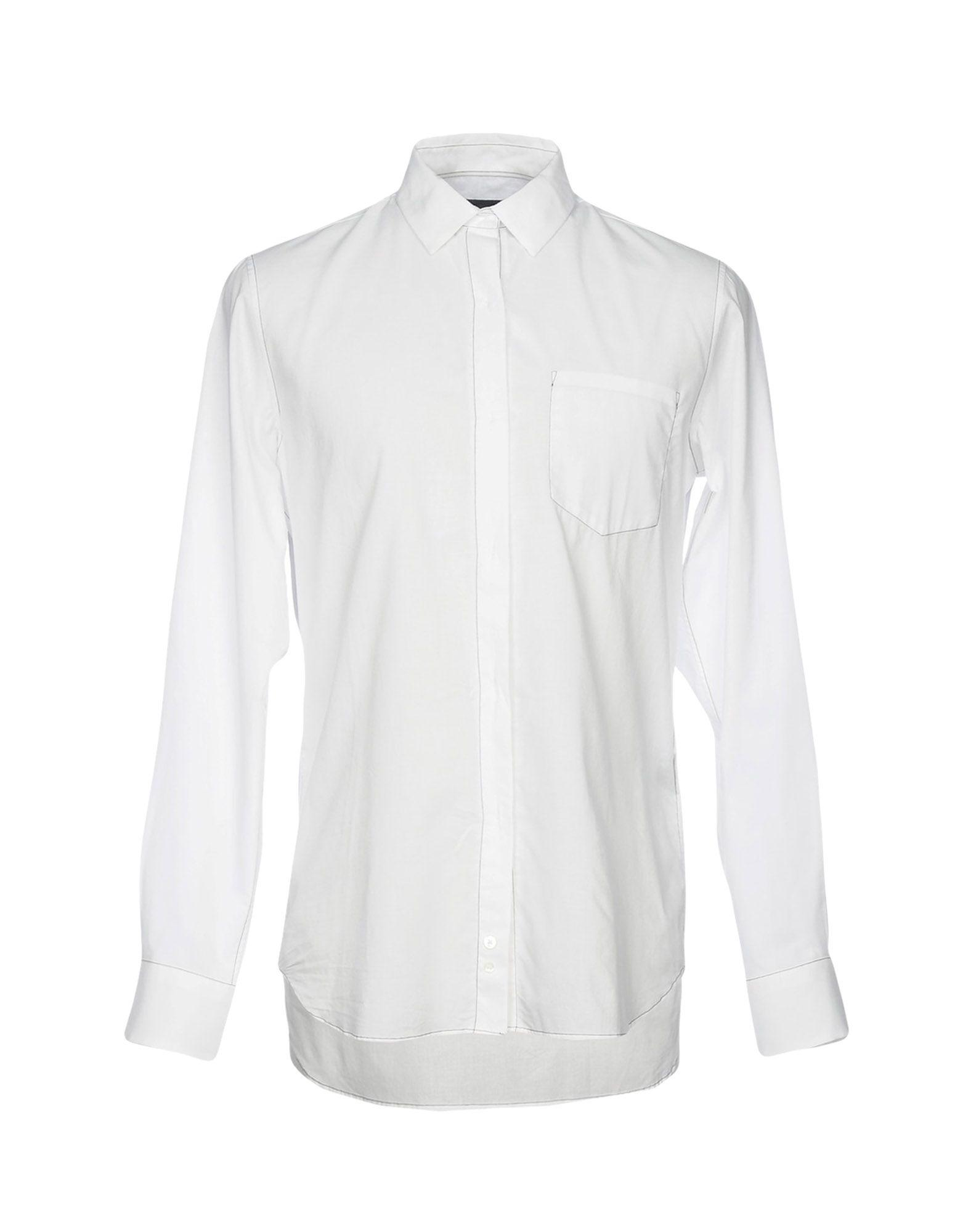For Sale Free Shipping Ann Demeulemeester classic cotton shirt - White Discount Get Authentic Discount Very Cheap Free Shipping 100% Original zZQHag