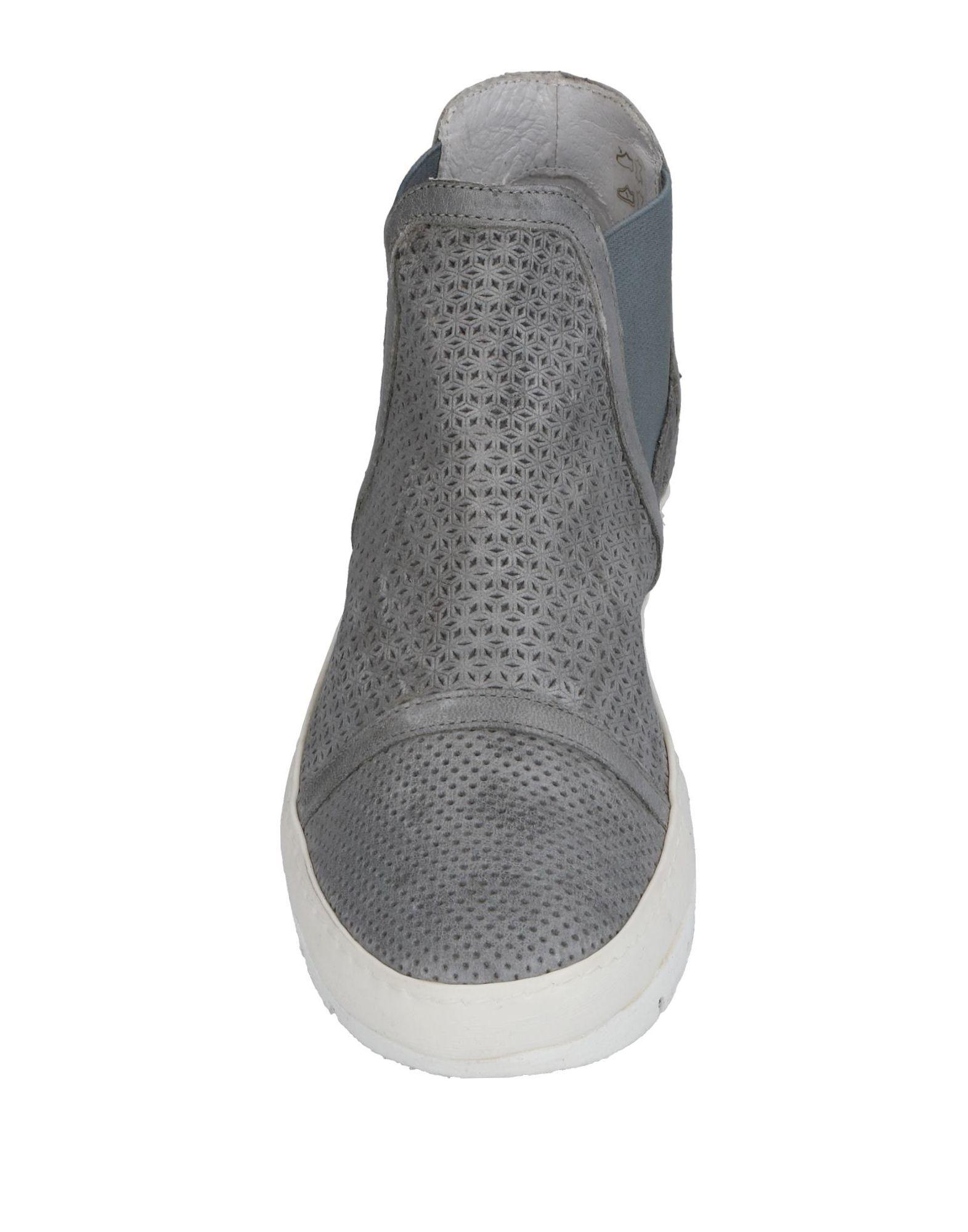 Khrio Leather High-tops & Sneakers in Grey (Grey)