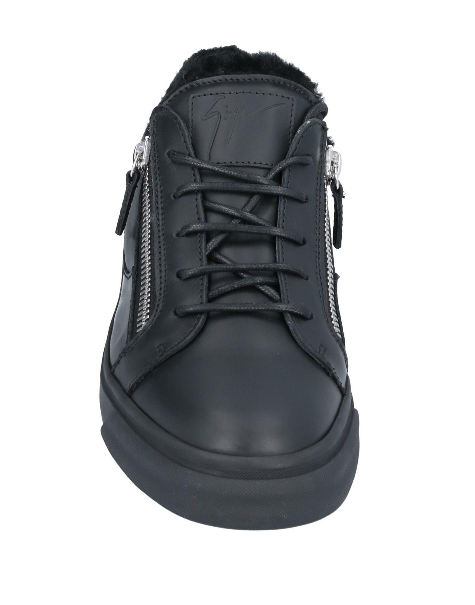 Sneakers & Deportivas Giuseppe Zanotti de hombre de color Negro