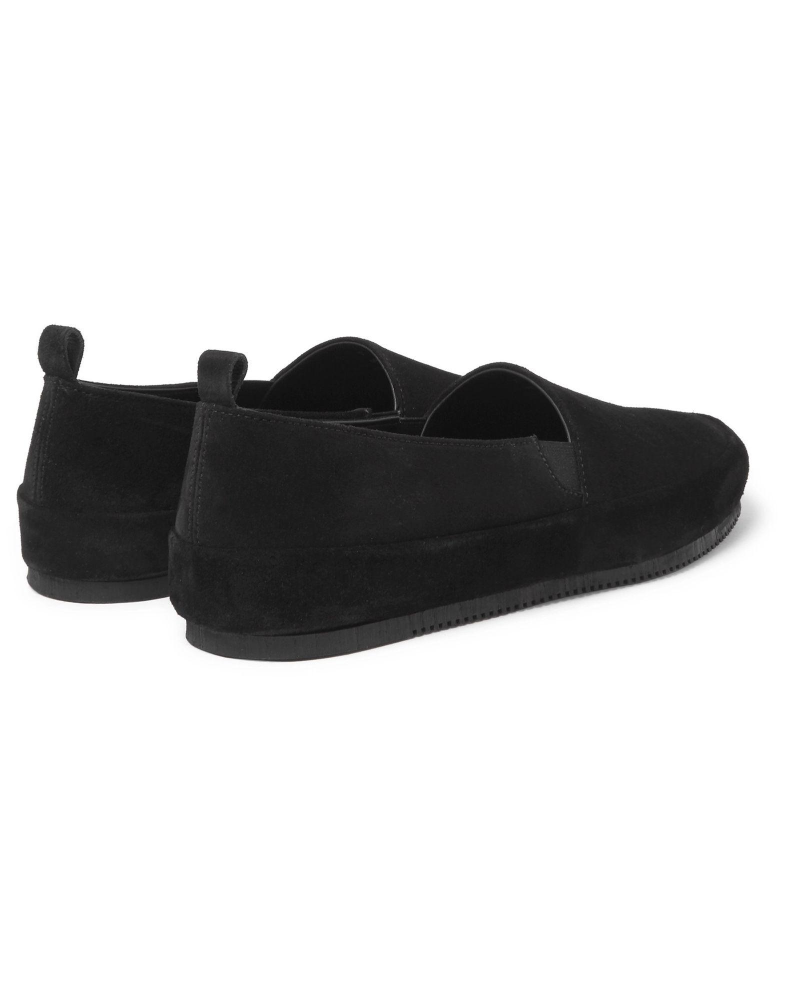 Mulo Leather Loafer in Black for Men
