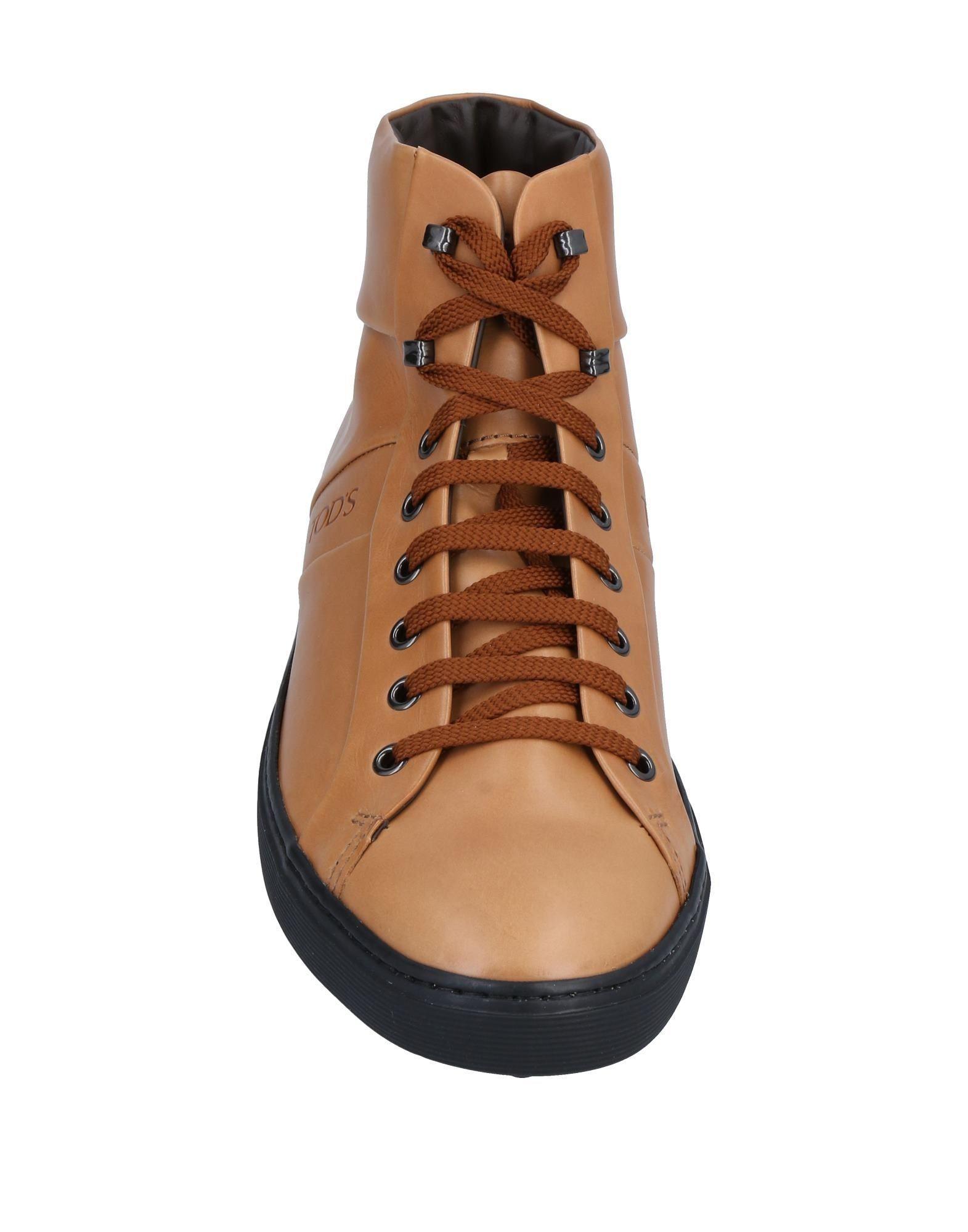 Sneakers abotinadas Tod's de hombre de color Marrón