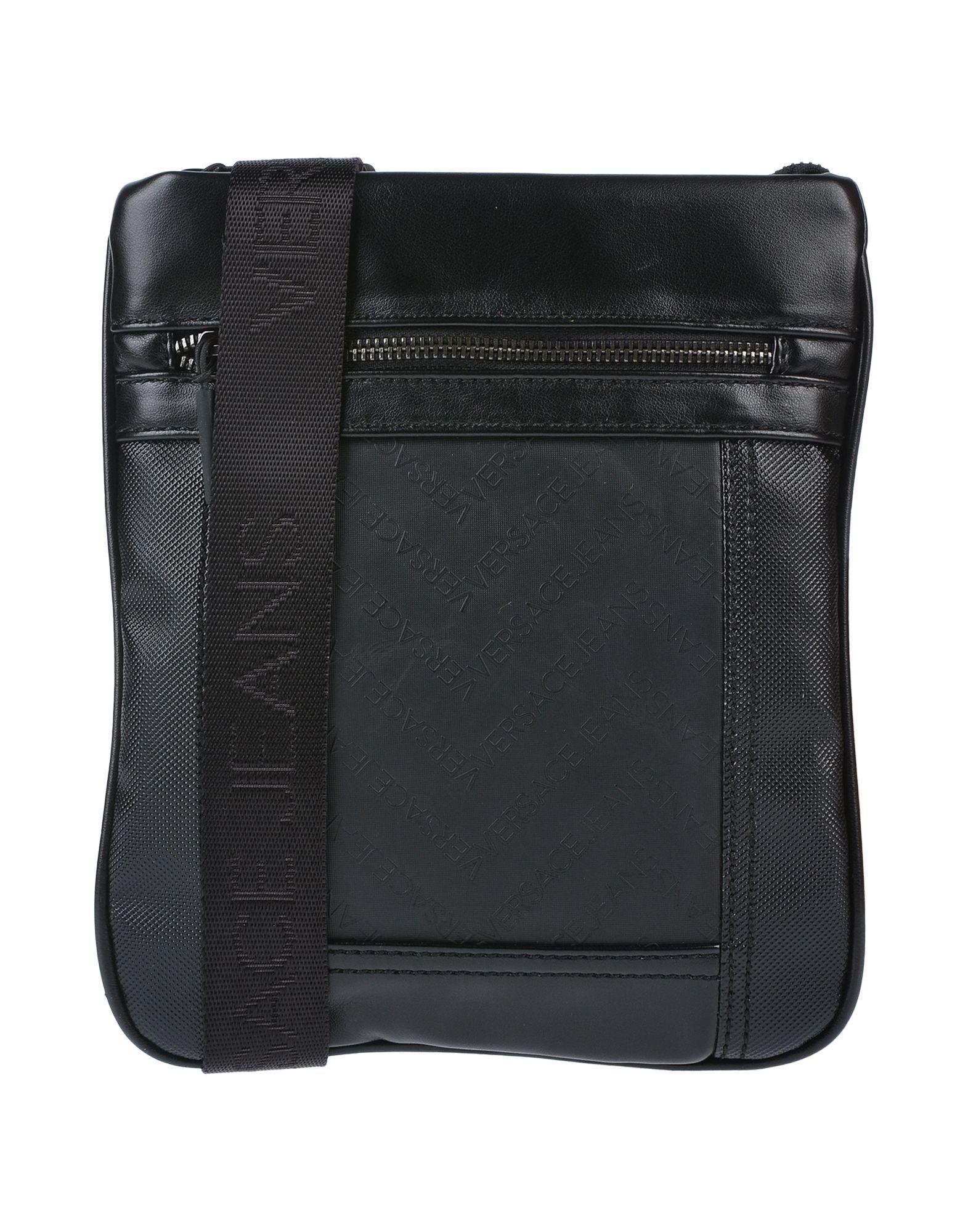 Versace Jeans Cross-body Bags in Black for Men - Lyst acf11b0c1359c