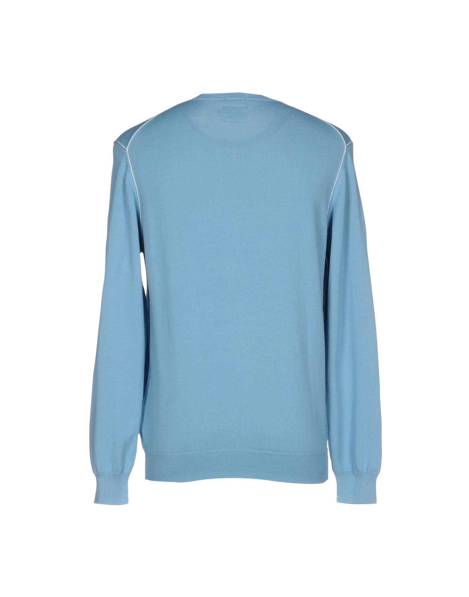 Pepe Jeans Cotton Sweater in Sky Blue (Blue) for Men
