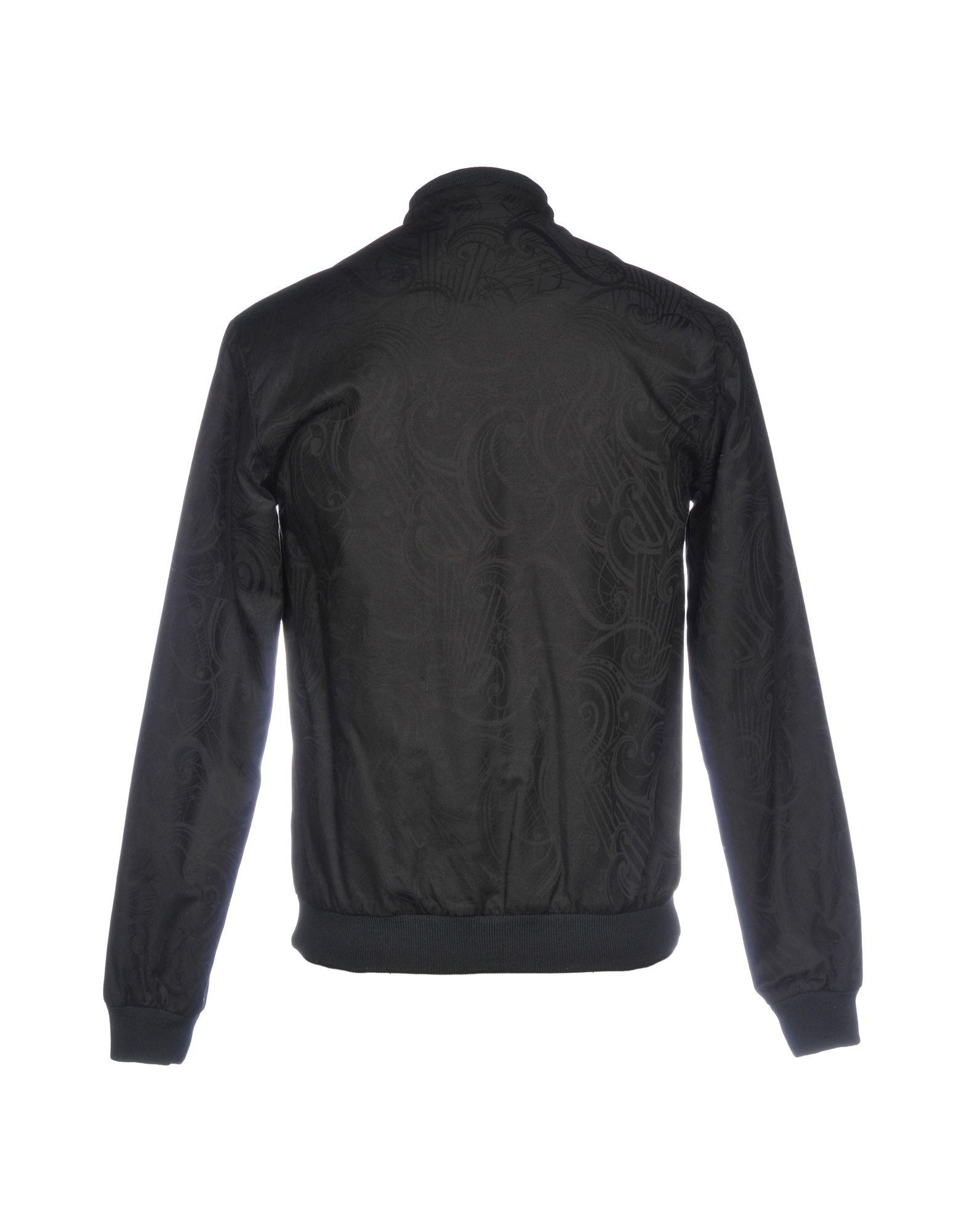 Versace Jeans Couture Cotton Jacket in Black for Men