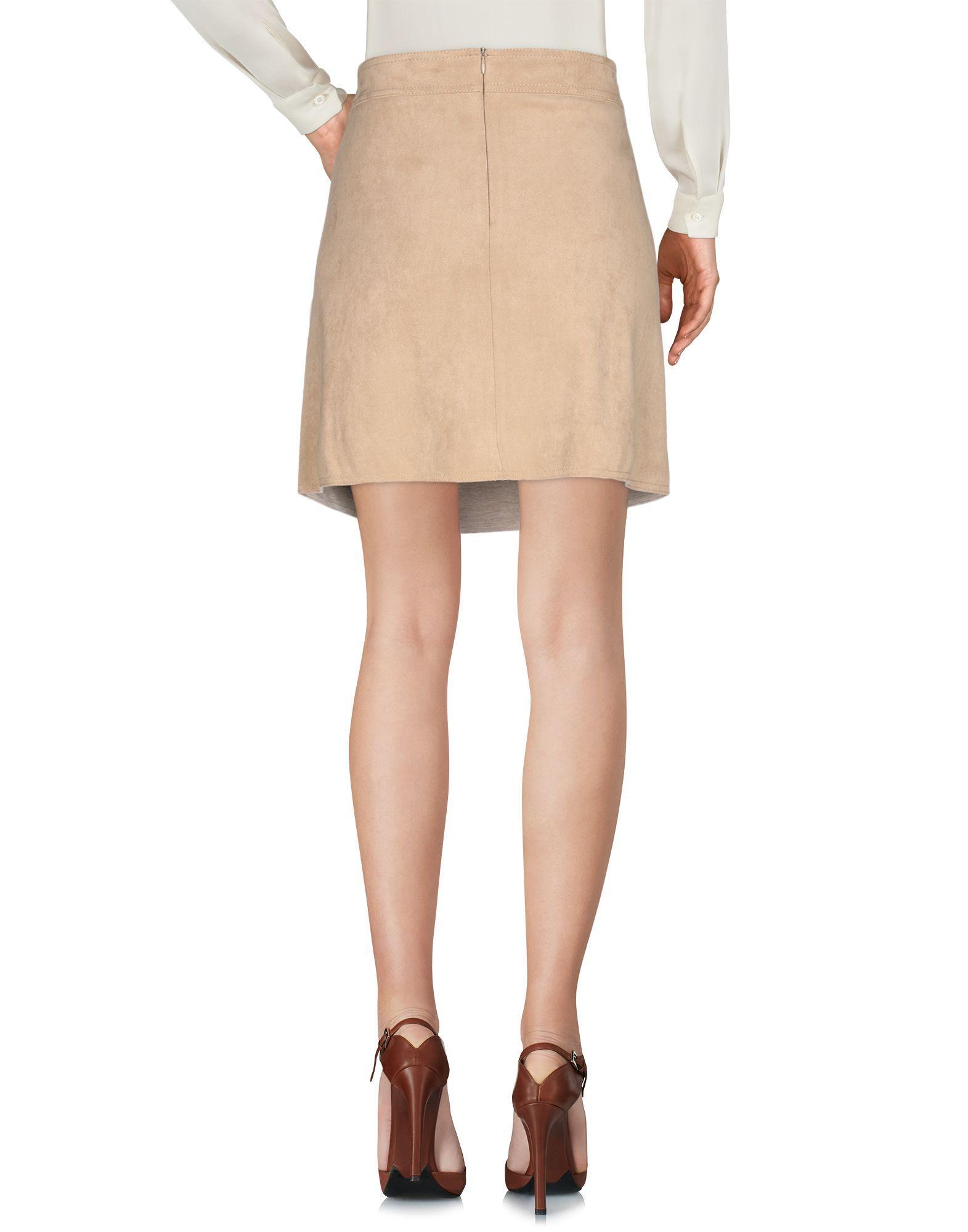 Minifalda Pennyblack de Tejido sintético de color Neutro