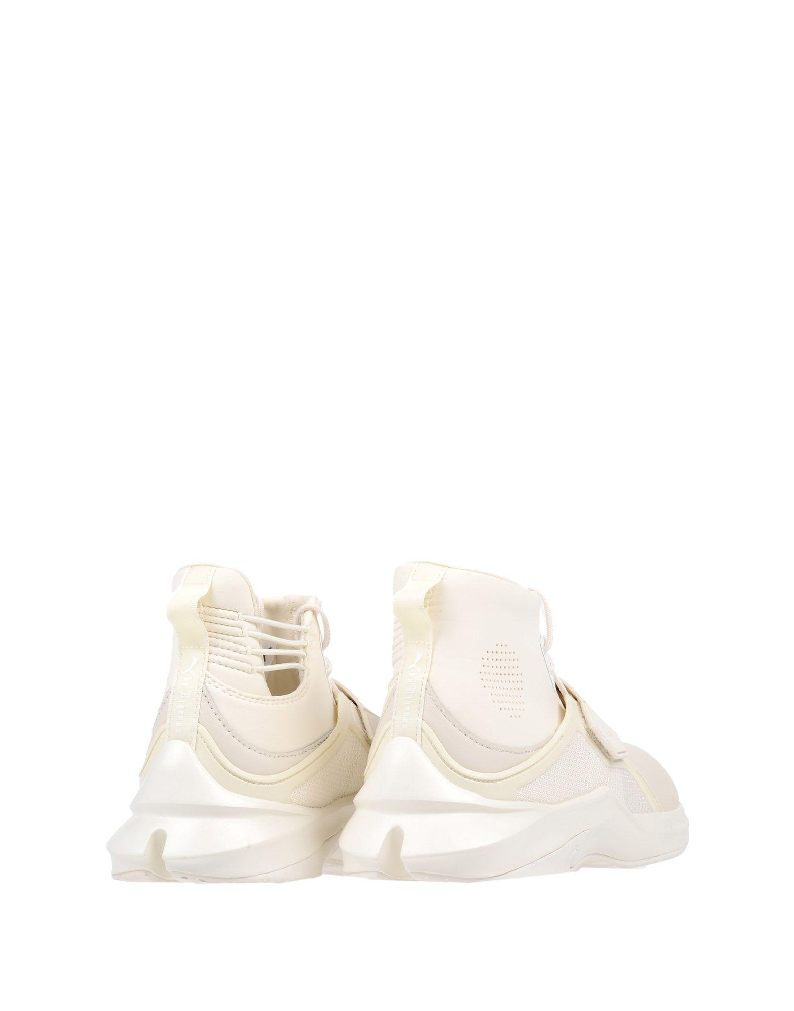 Fenty Leather High-tops & Sneakers in Ivory (White)