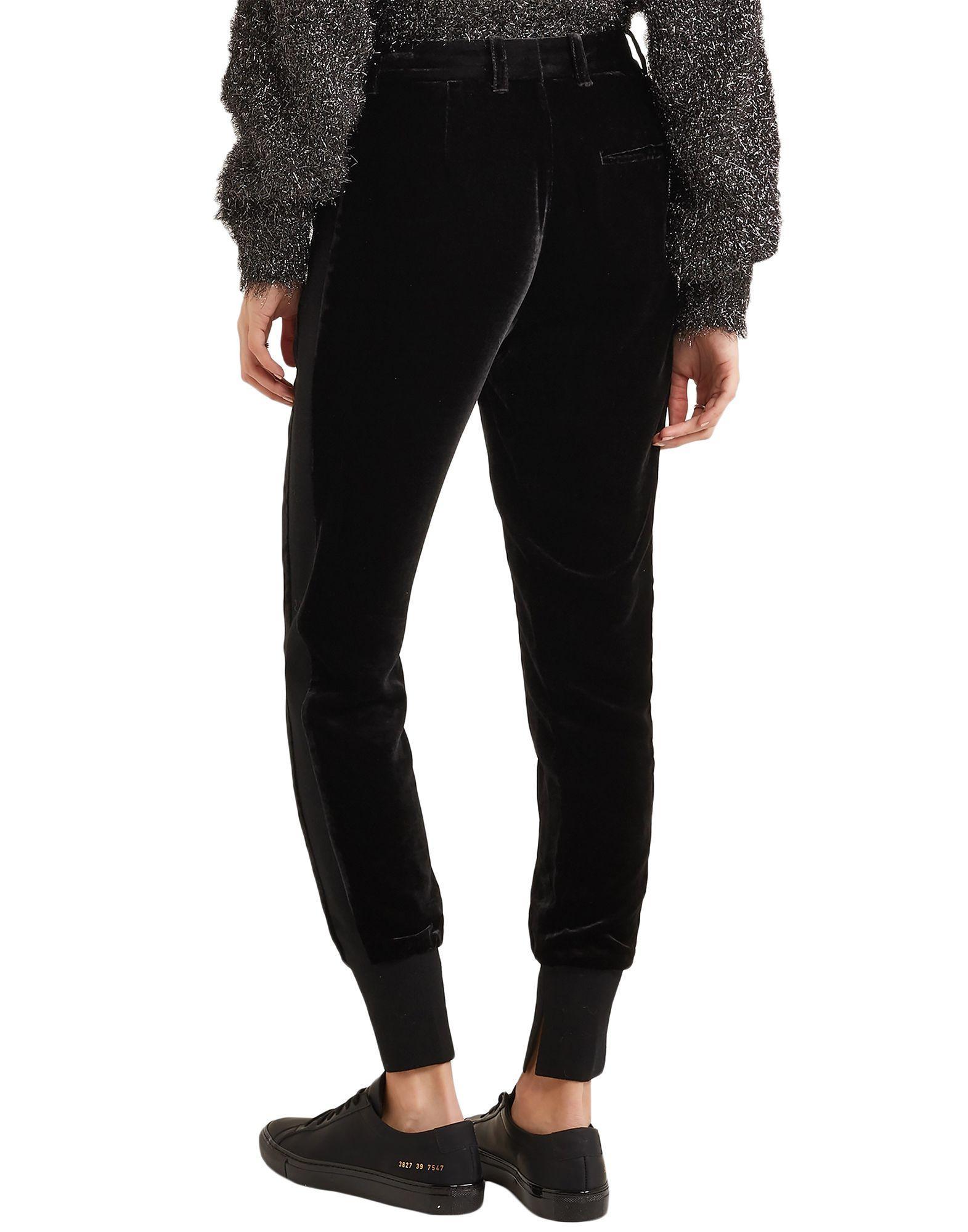 Pantalones 3.1 Phillip Lim de Terciopelo de color Negro