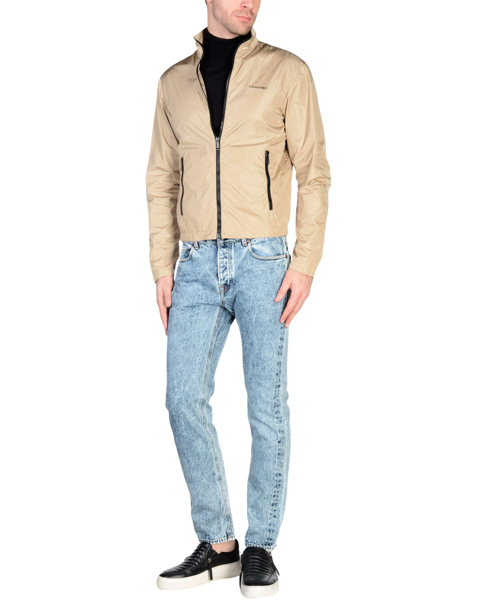 DSquared² Synthetic Jacket in Beige (Natural) for Men