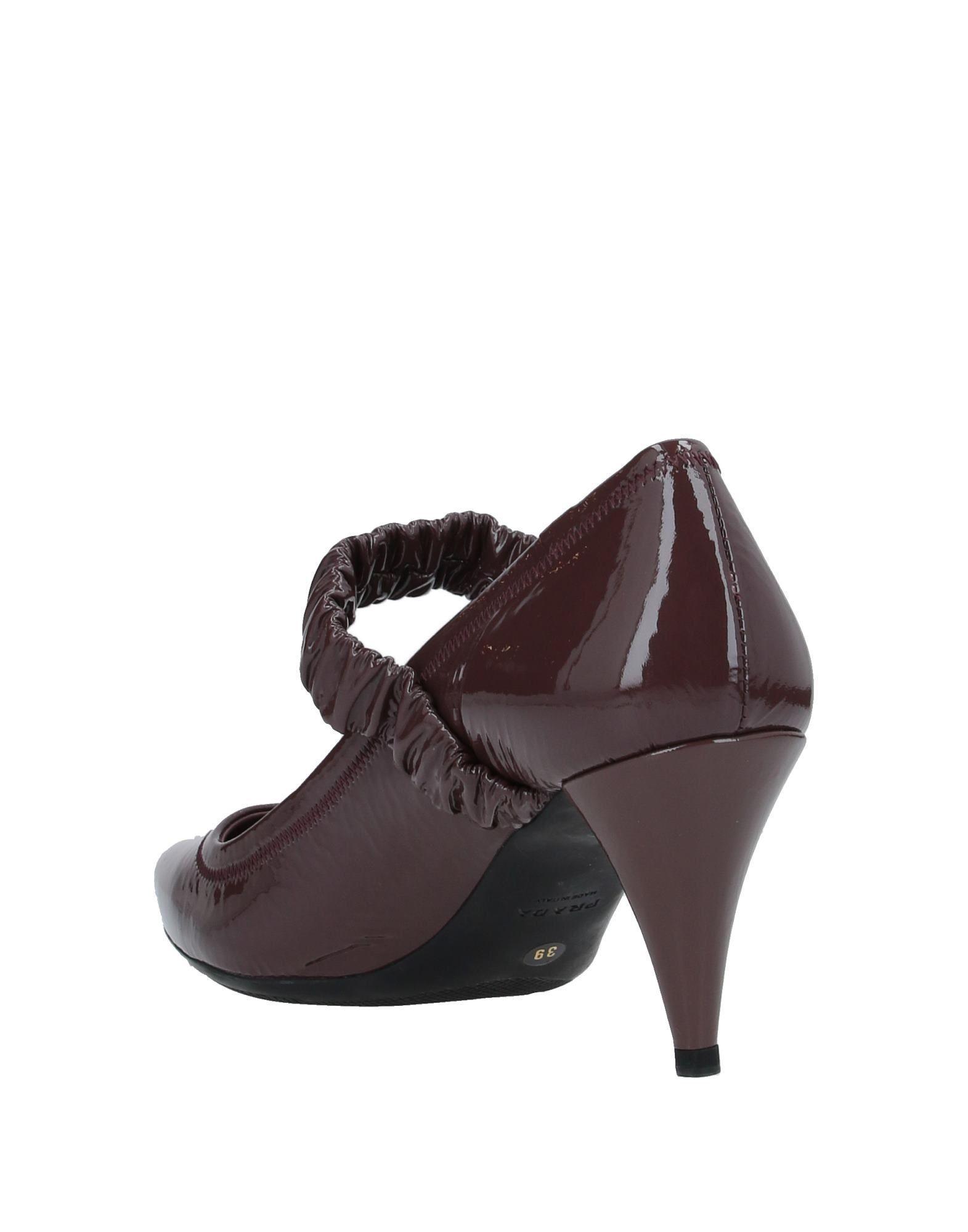 Zapatos de salón Prada Sport de color Marrón