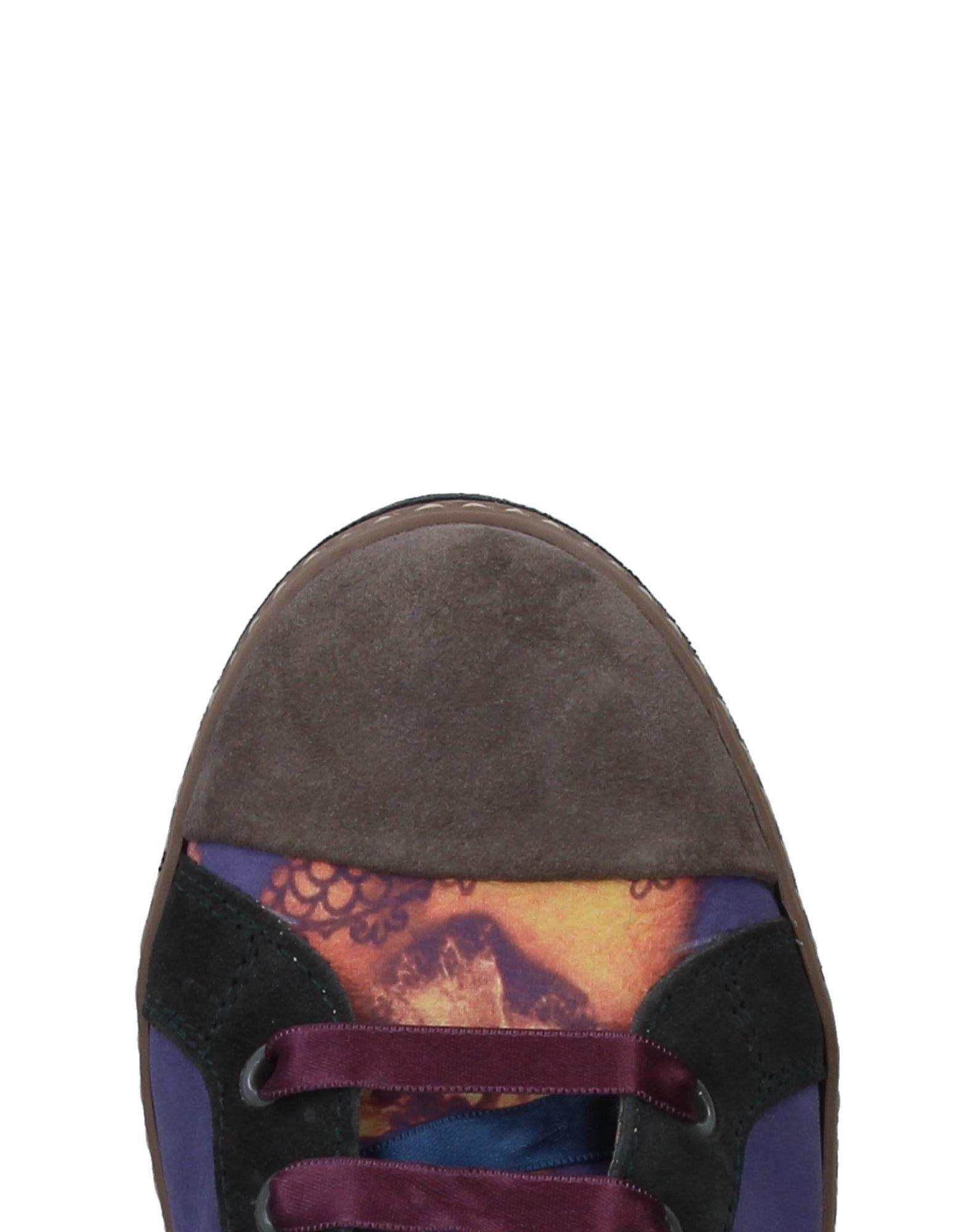 Soisire Soiebleu Leather High-tops & Sneakers in Purple