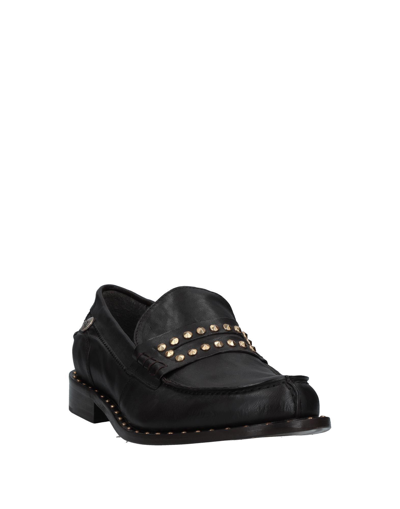 ( Verba ) Leather Loafer in Dark Brown (Brown) for Men