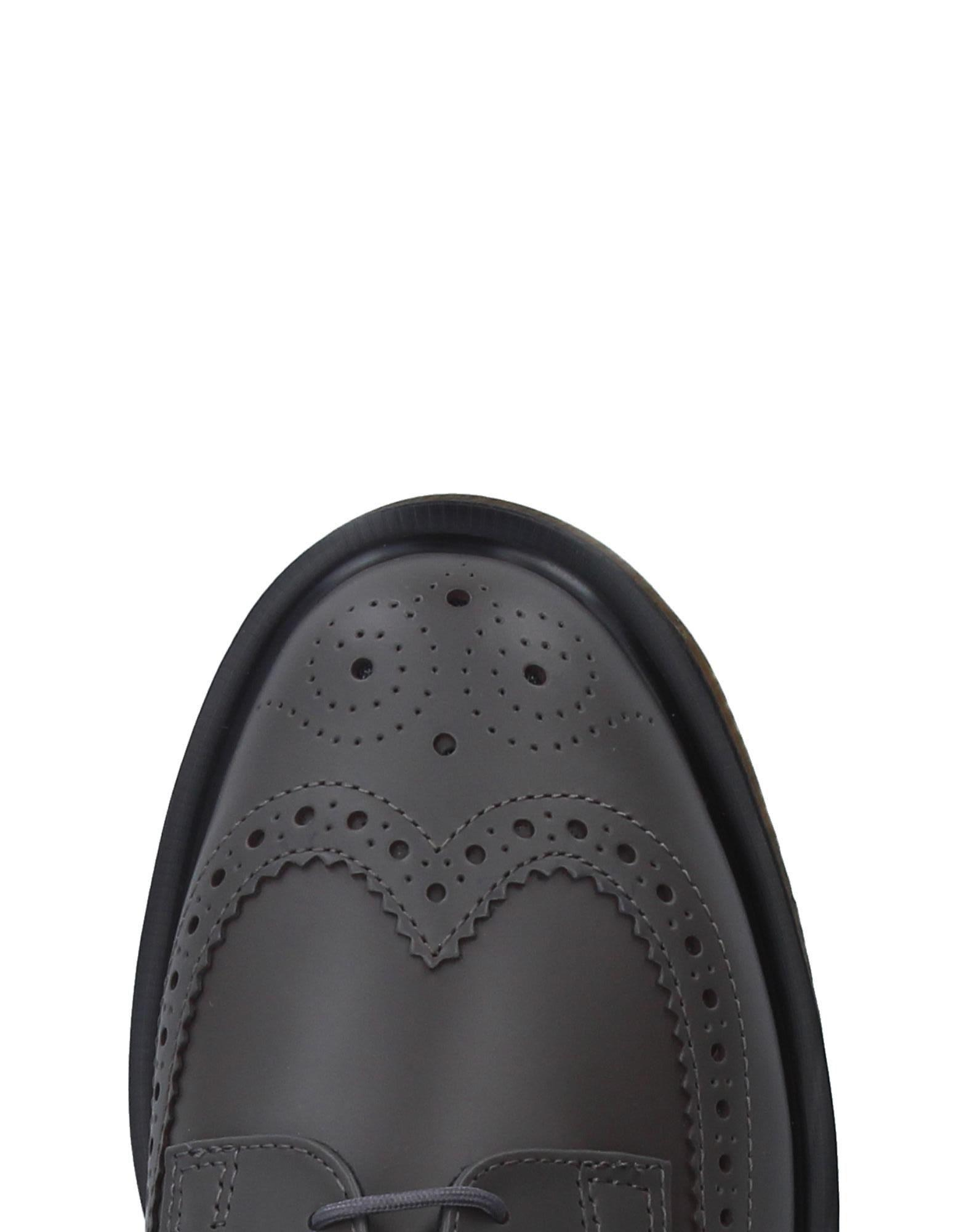 Dr. Martens Leather Lace-up Shoe in Grey (Grey) for Men