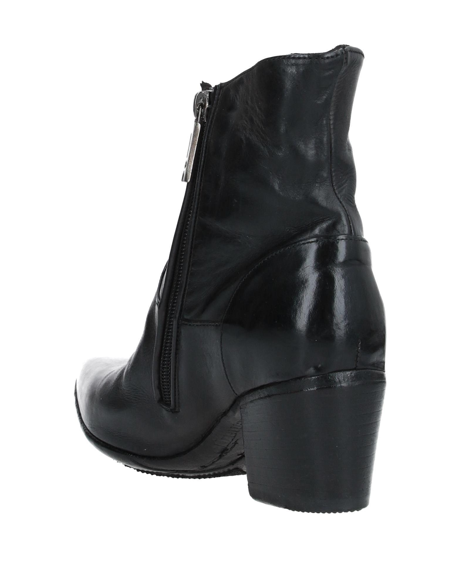 Botines de caña alta LEMARGO de Cuero de color Negro