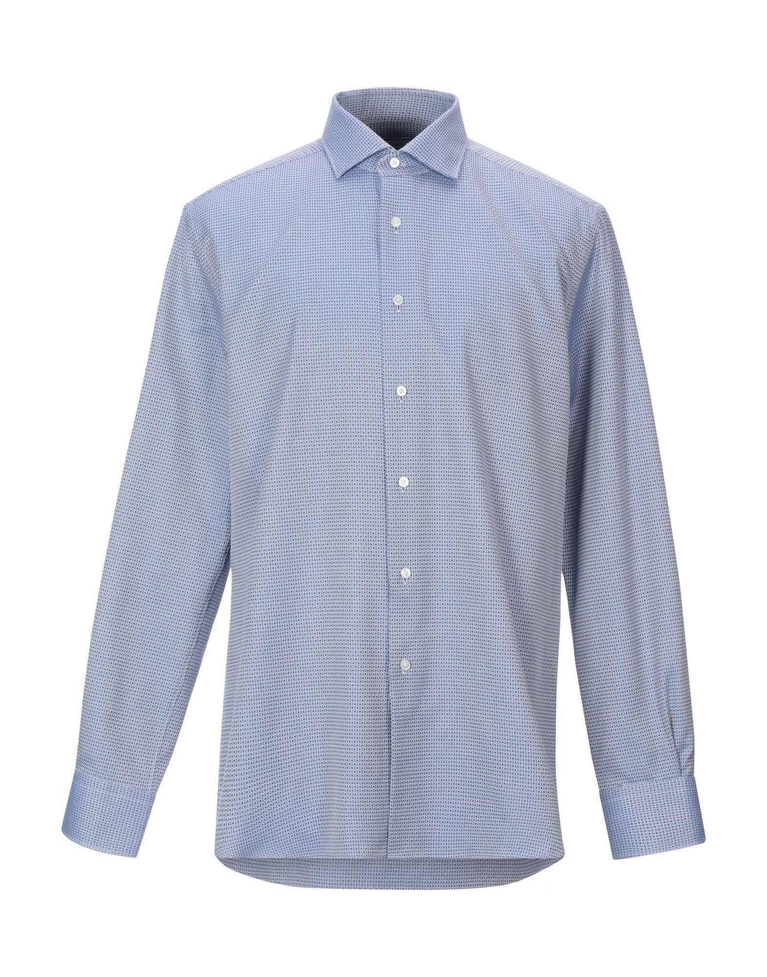 d067f813bcac Lyst - Xacus Shirt in Blue for Men