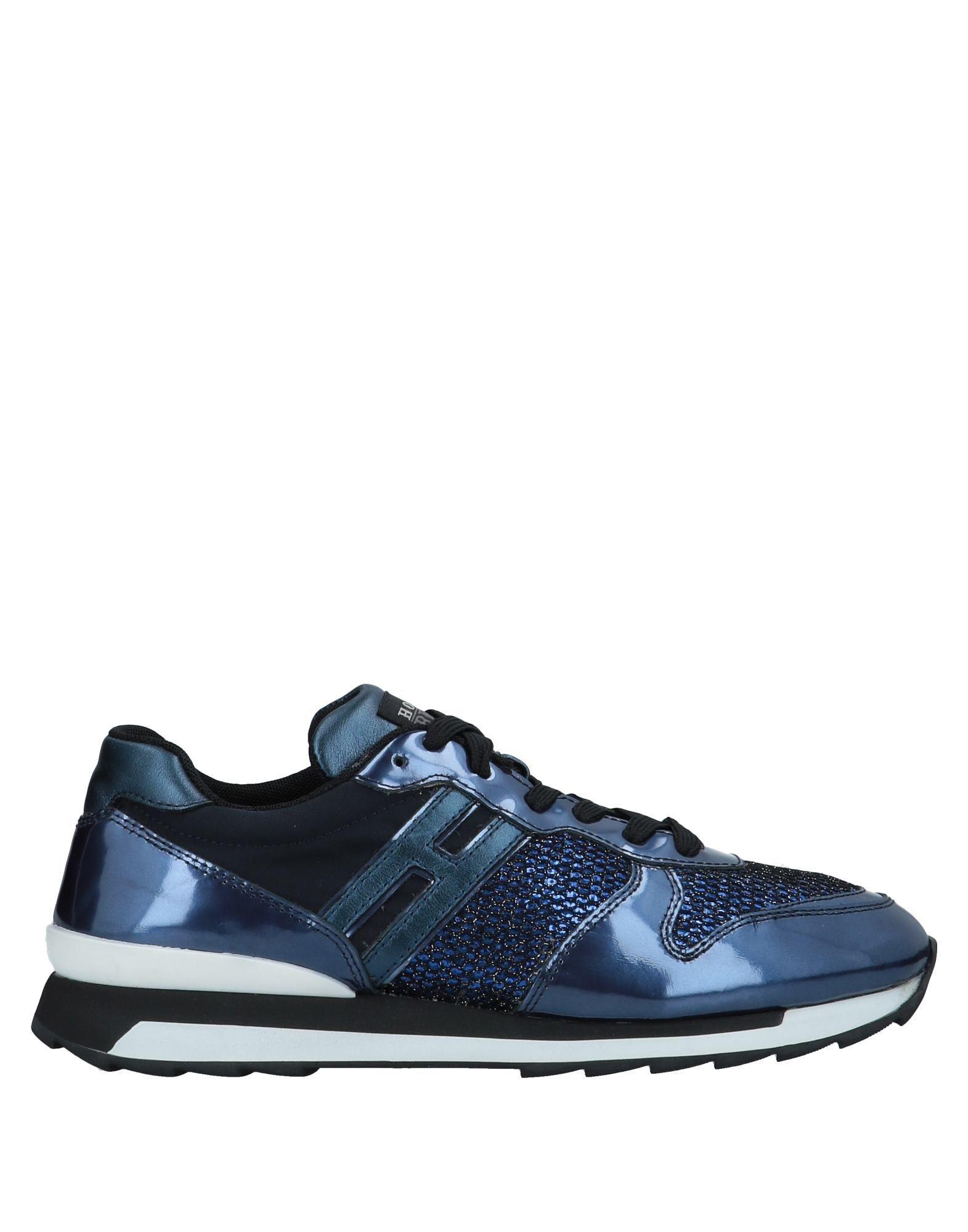 Lyst - Sneakers   Tennis basses Hogan Rebel en coloris Bleu 1295c594369