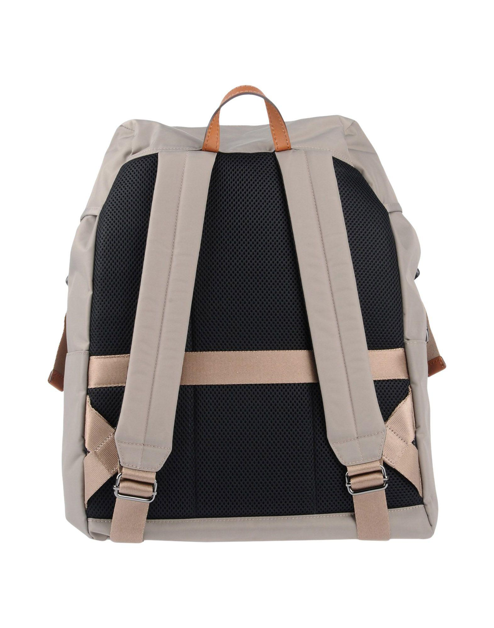 Bric's Leather Backpacks & Fanny Packs in Grey (Grey)