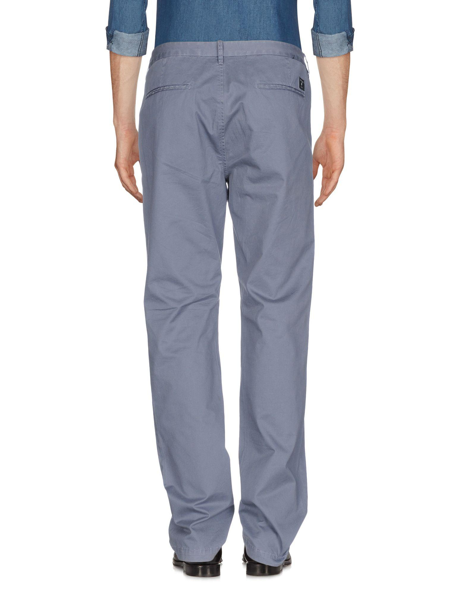 Guess Cotton Casual Pants in Grey (Grey) for Men